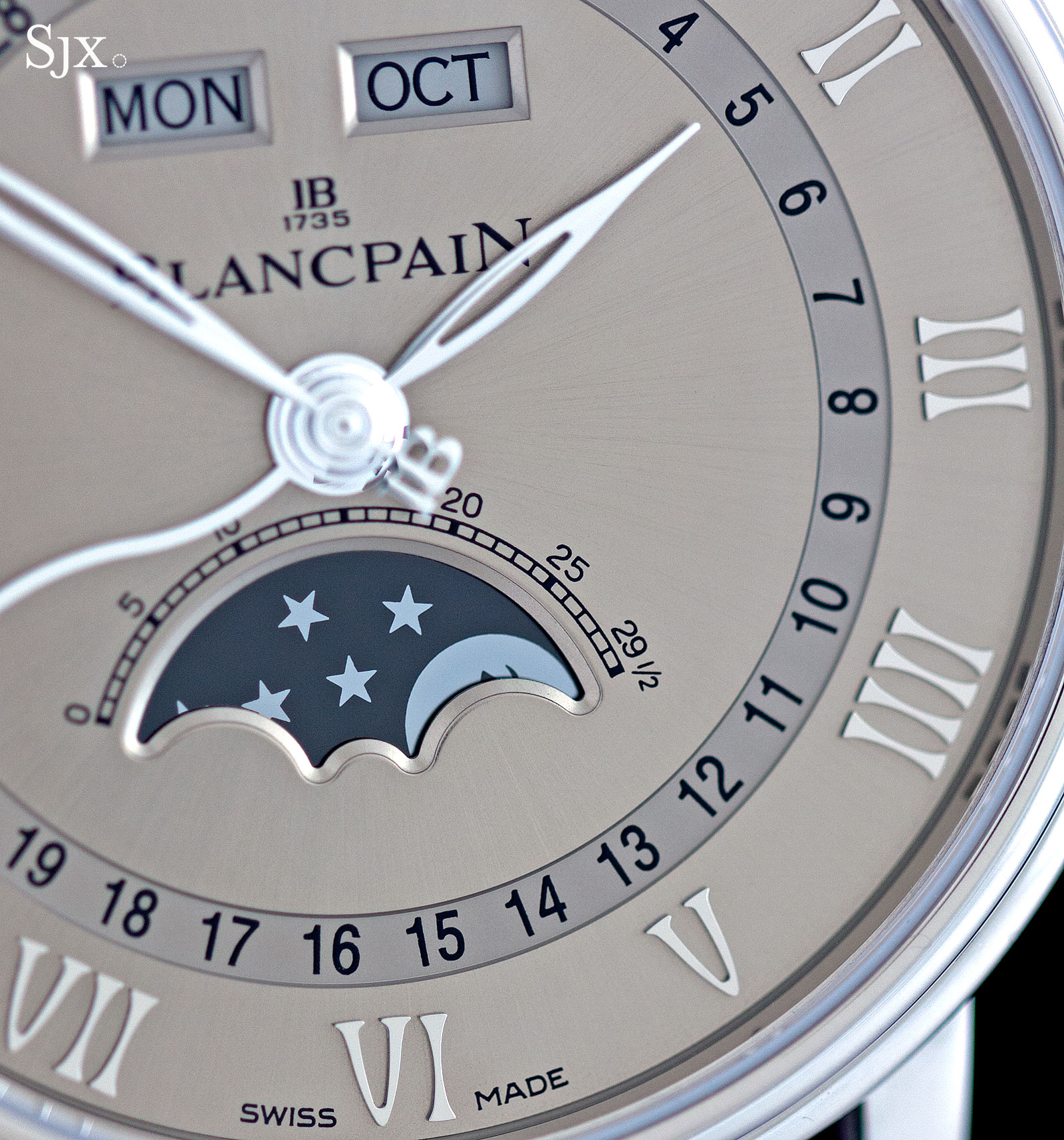 Blancpain Complete Calendar white gold 5