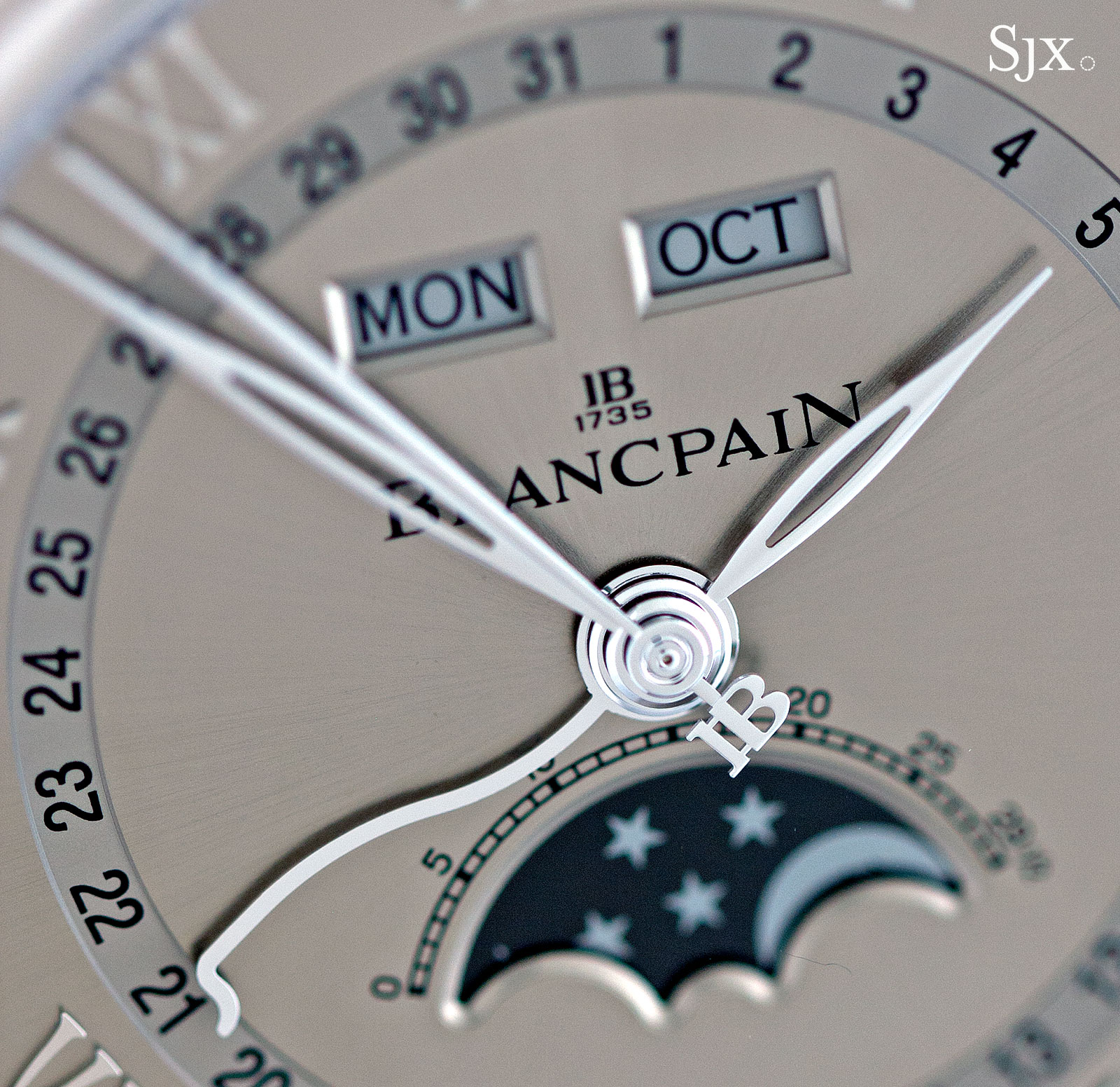 Blancpain Complete Calendar white gold 8