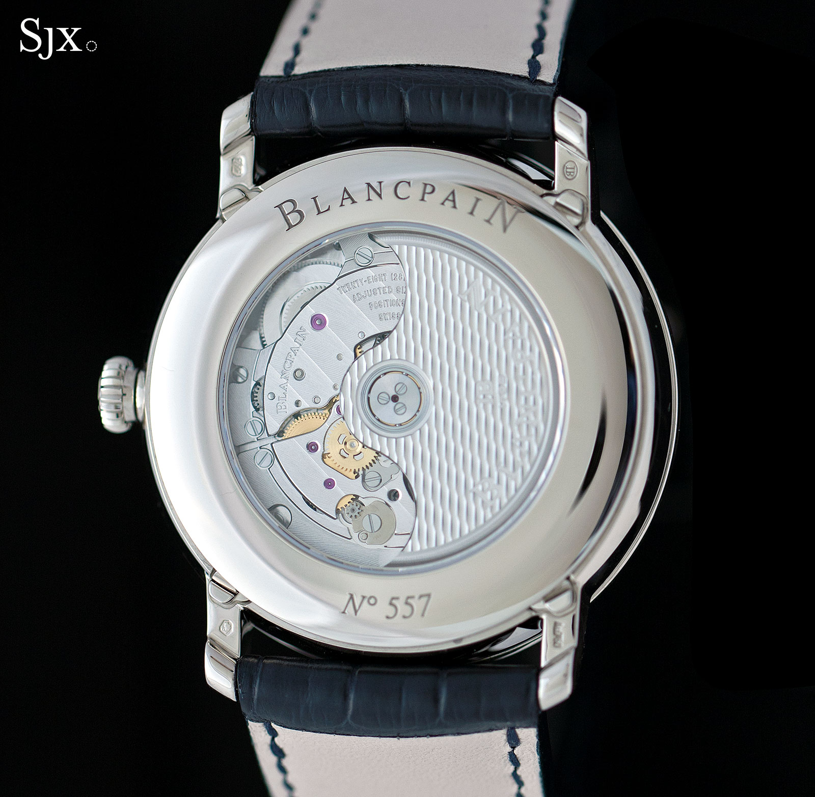Blancpain Complete Calendar white gold 9