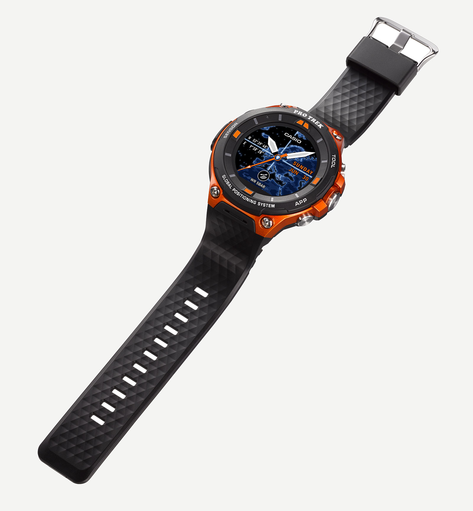 Casio Protrek WSD-F20 Smart Outdoor Watch 4