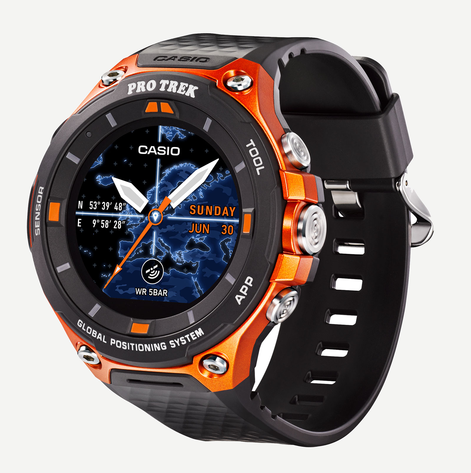 Casio Protrek WSD-F20 Smart Outdoor Watch 5