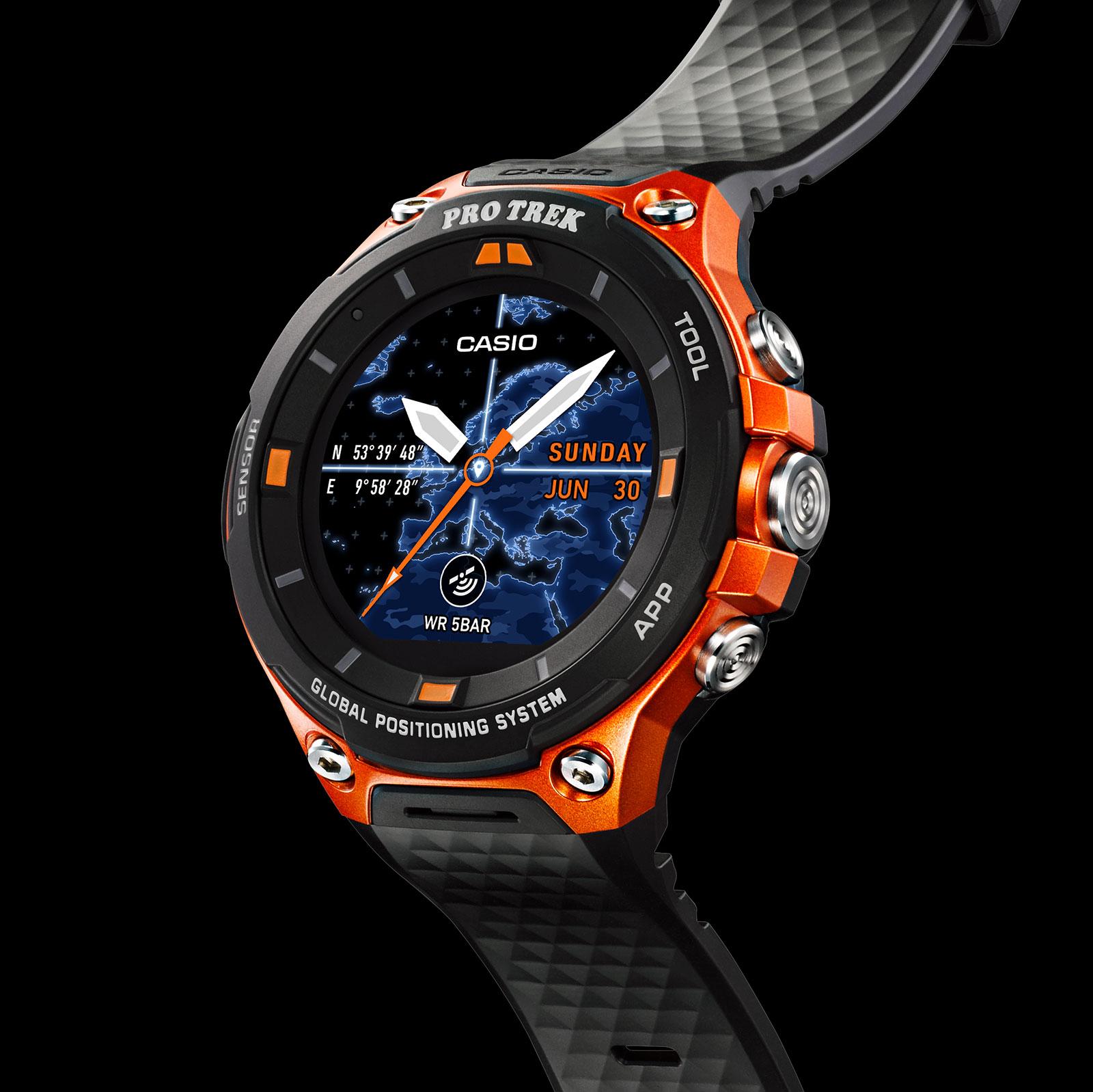 Casio Protrek WSD-F20 Smart Outdoor Watch 6