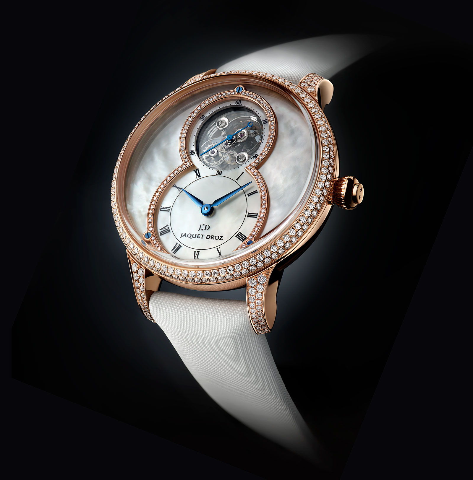Jaquet Droz Grande Seconde Tourbillon Mother-of-Pearl 1