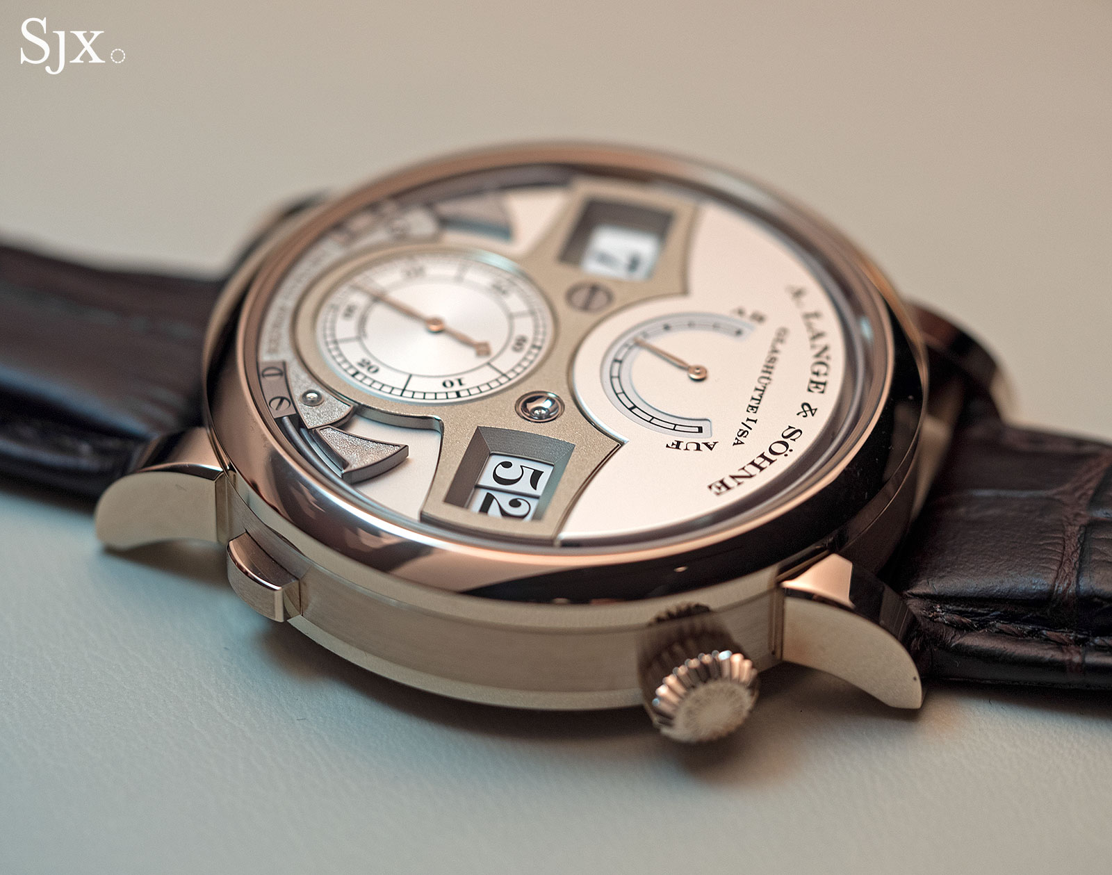 Lange Zeitwerk Decimal Strike Honey Gold 14