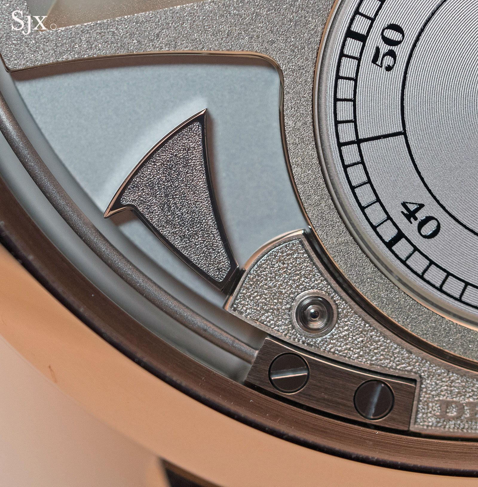 Lange Zeitwerk Decimal Strike Honey Gold 15
