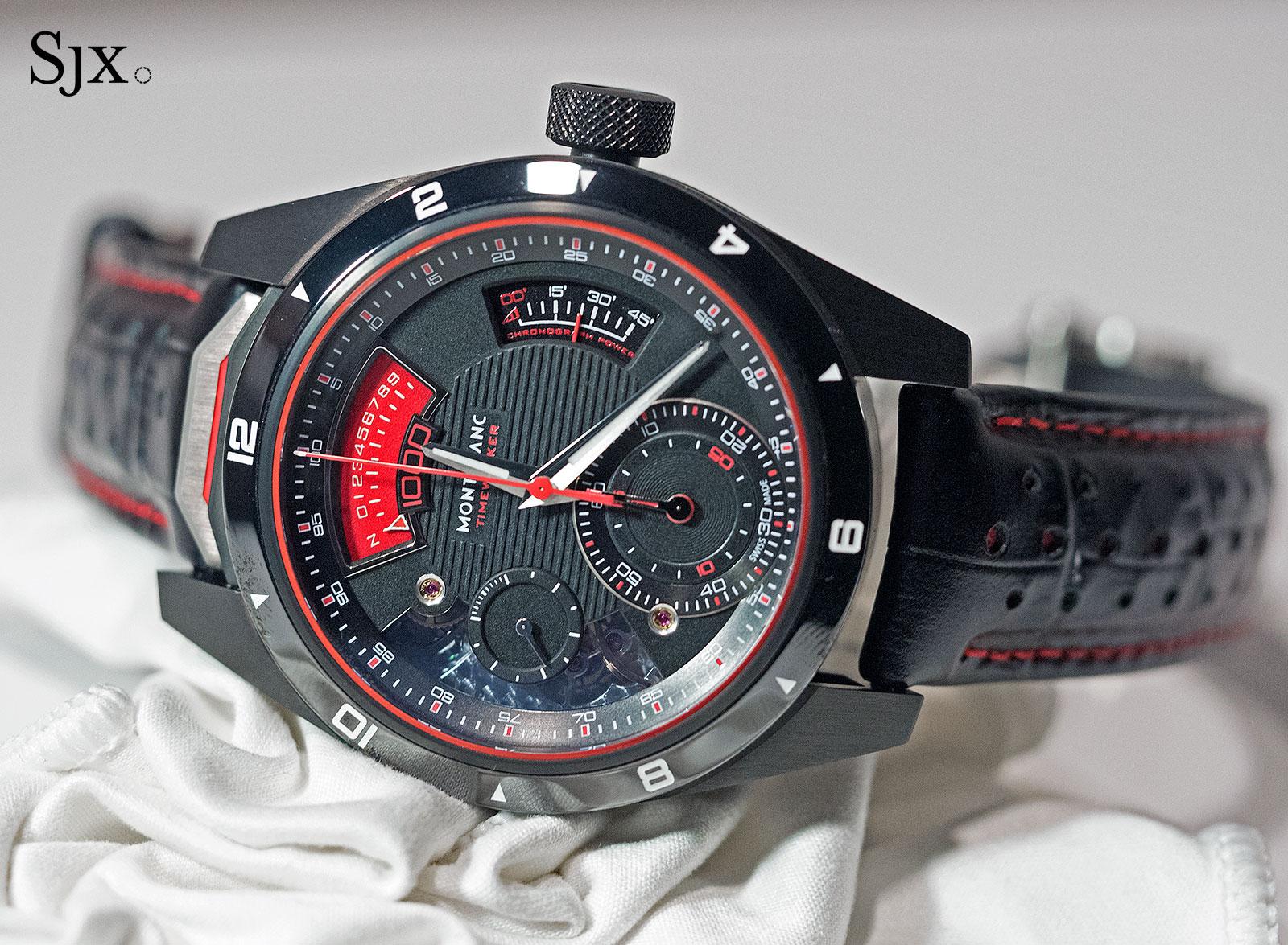 Montblanc TimeWalker Chronograph 1000 Limited Edition 18-1