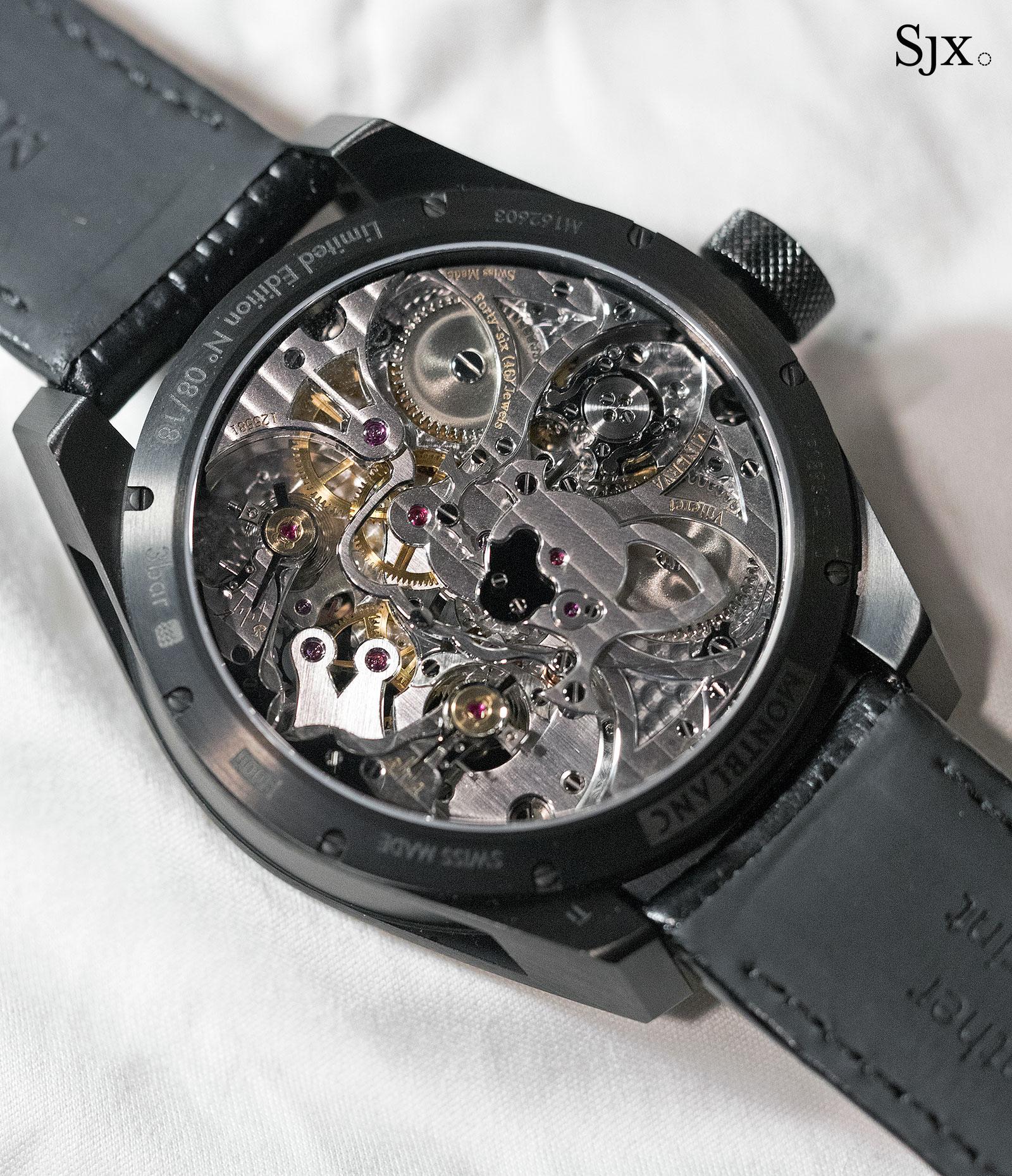 Montblanc TimeWalker Chronograph 1000 Limited Edition 18-3