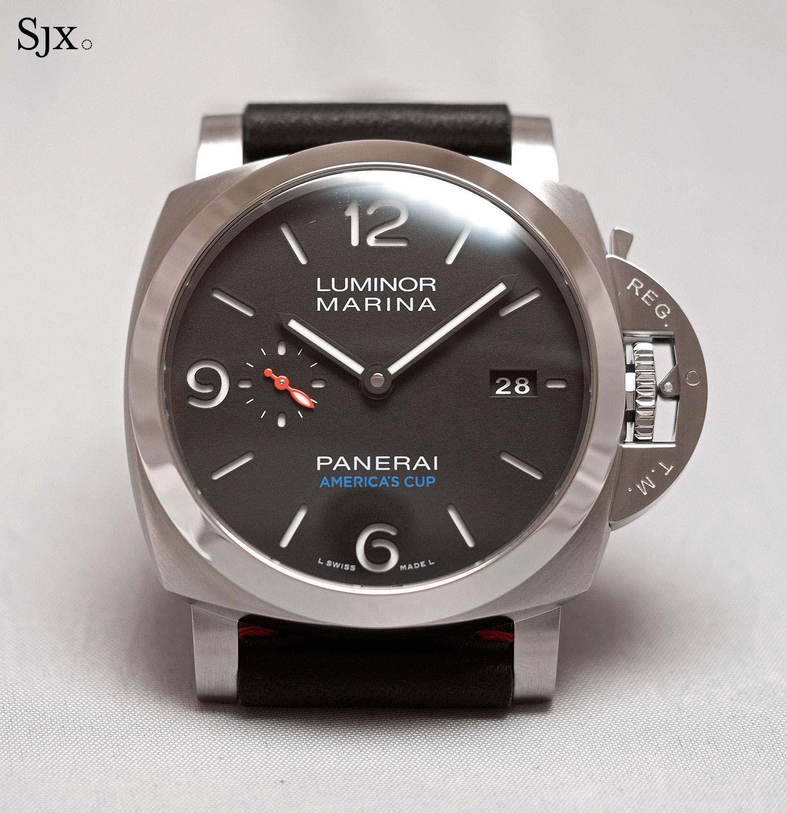 Panerai Luminor Marina 1950 America's Cup 3 Days Automatic Acciaio PAM727