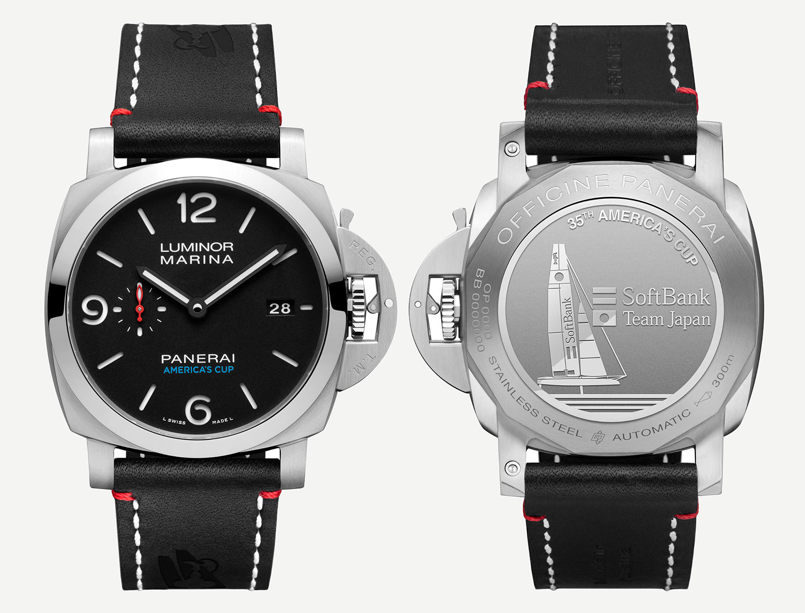 Panerai Luminor Marina 1950 SOFTBANK TEAM JAPAN PAM732
