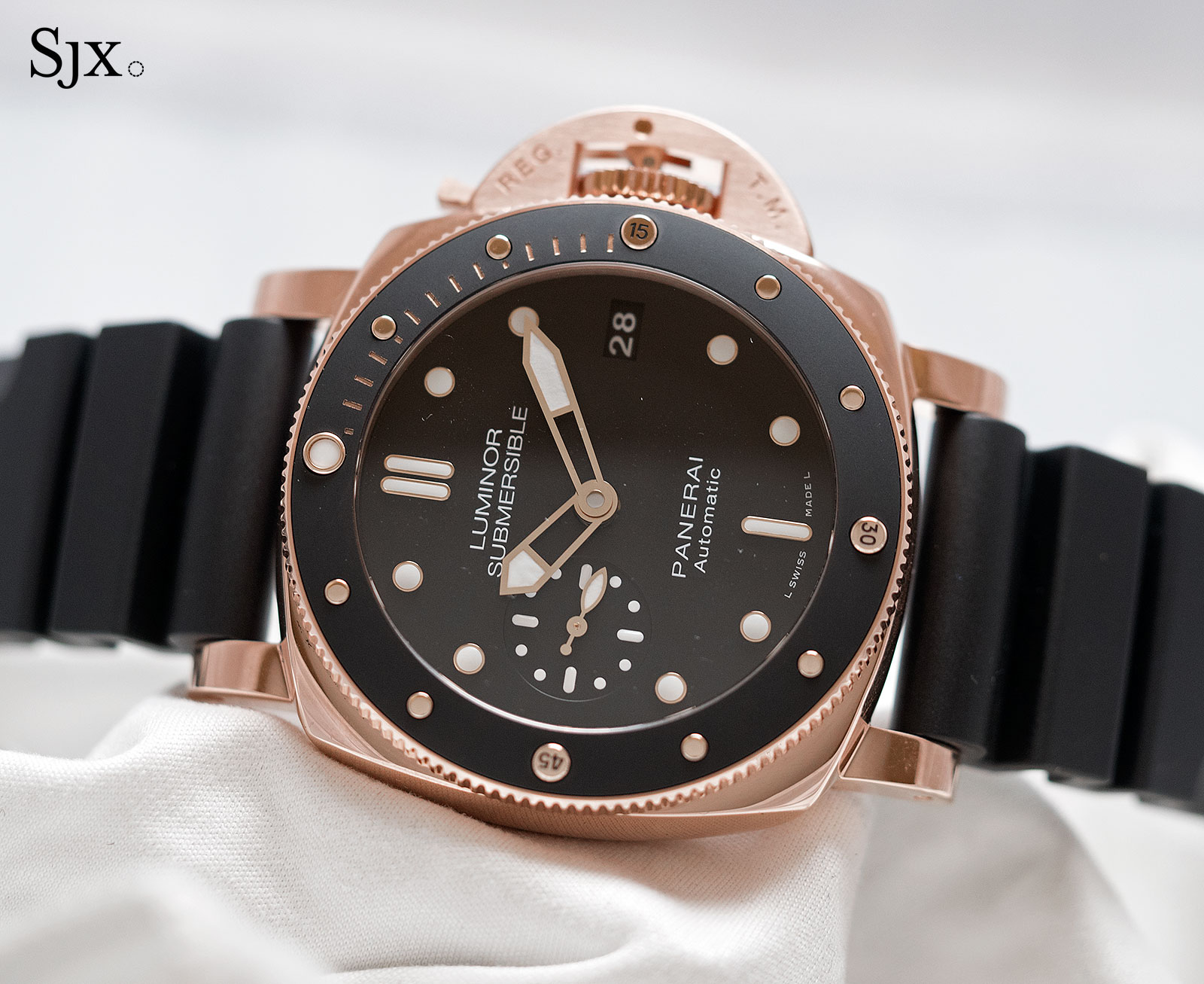 Panerai Luminor Submersible 1950 Oro Rosso 42mm PAM684-1