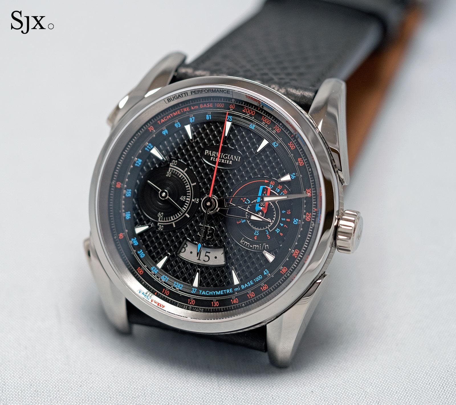 Parmigiani Bugatti Aerolithe watch 1