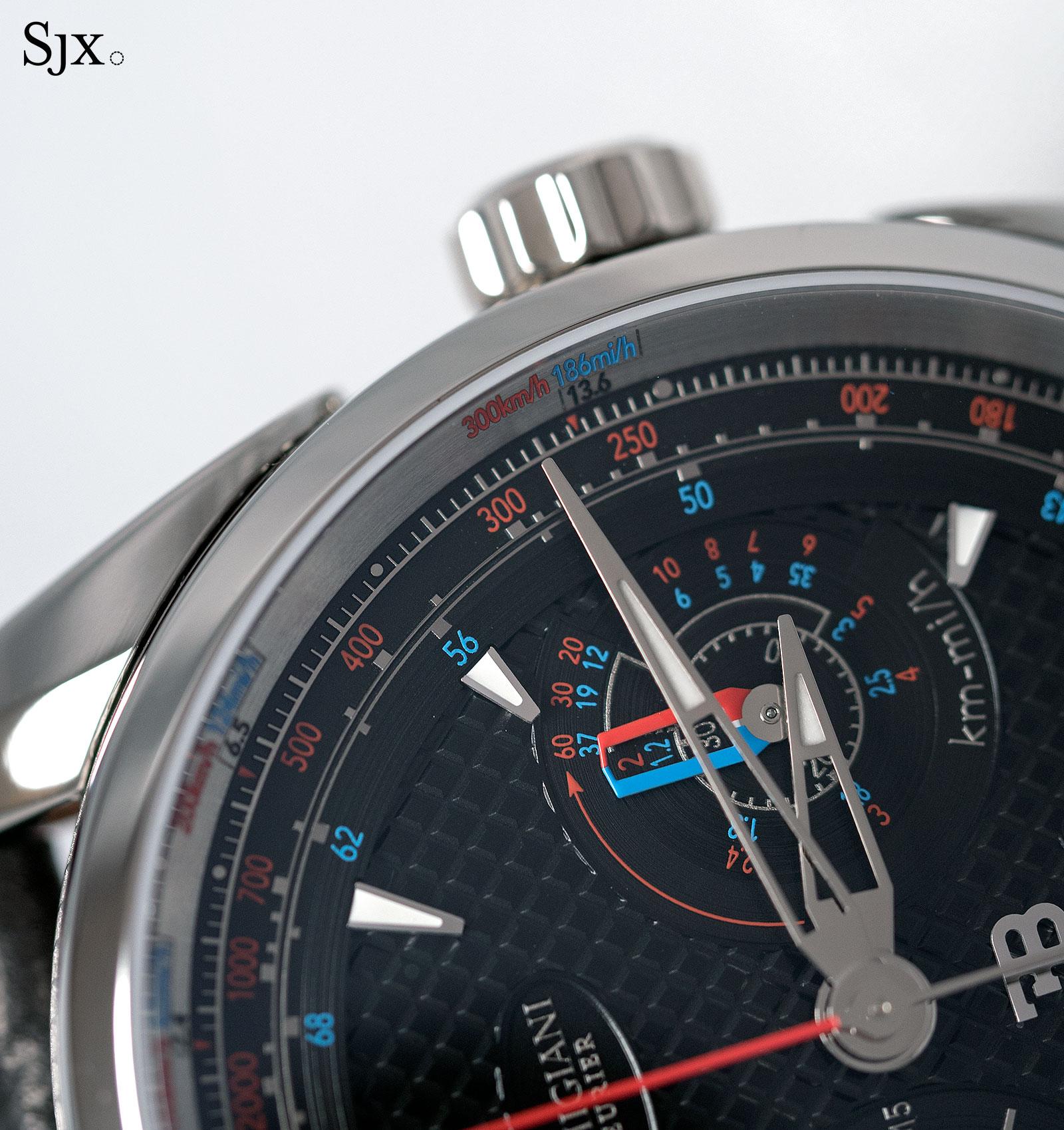 Parmigiani Bugatti Aerolithe watch 2