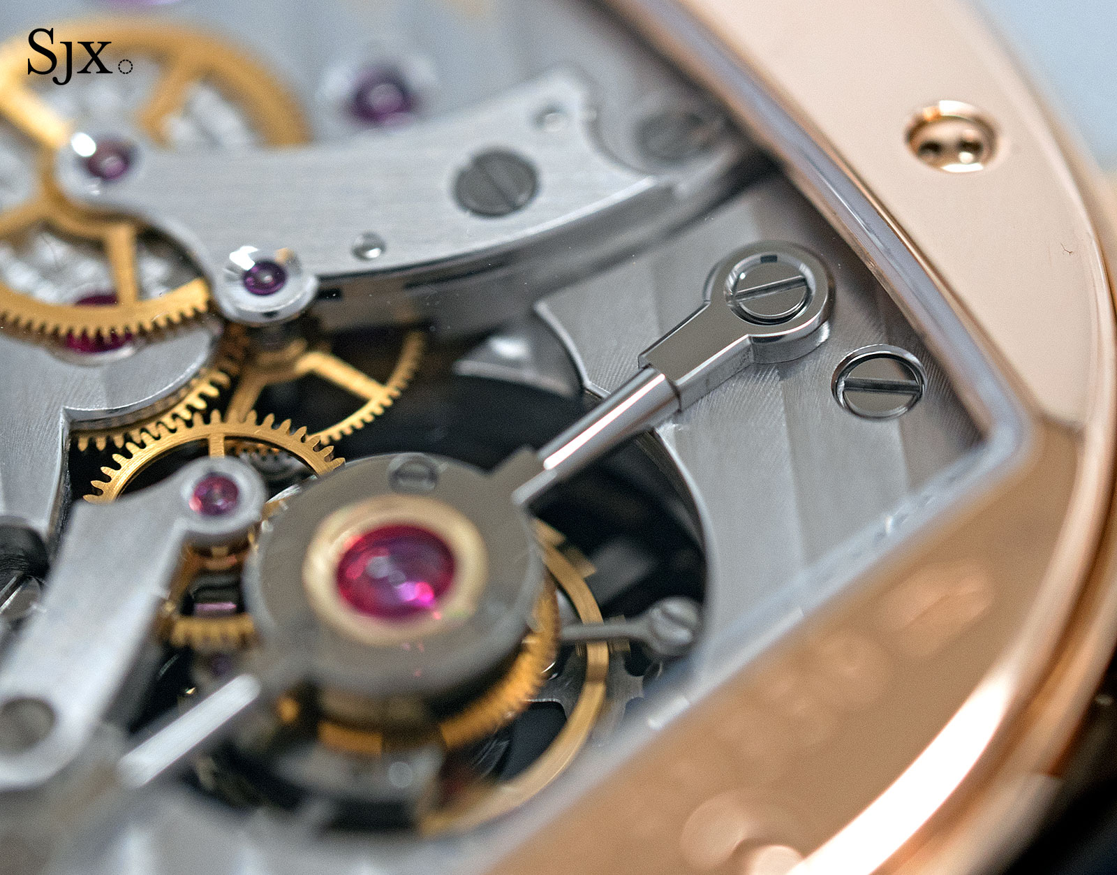 Parmigiani Ovale Tourbillon Rose Gold Abyss 4