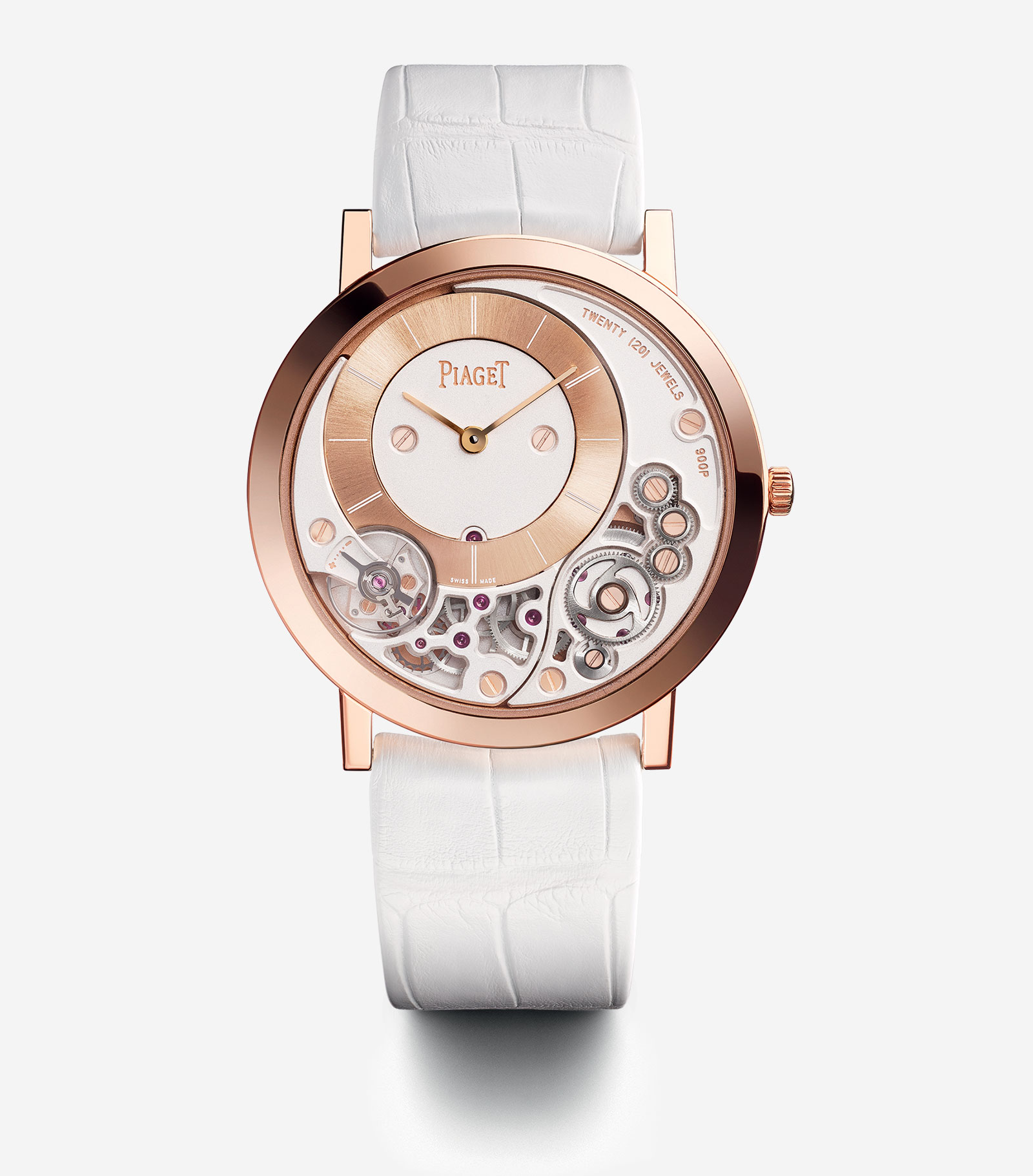 Piaget 60th Anniversary Altiplano 900P pink gold