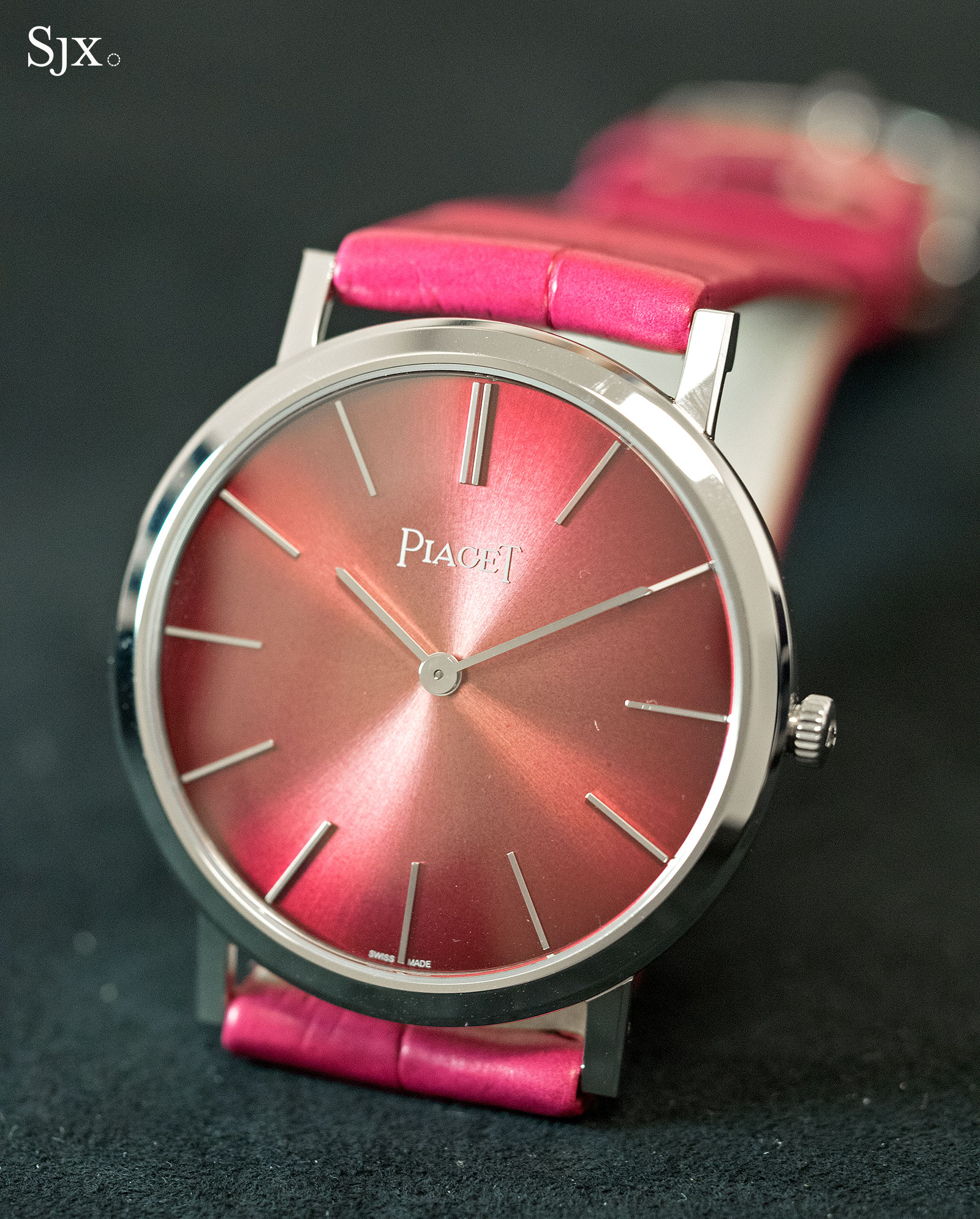 Piaget Altiplano 60th Anniversary 34mm pink 1