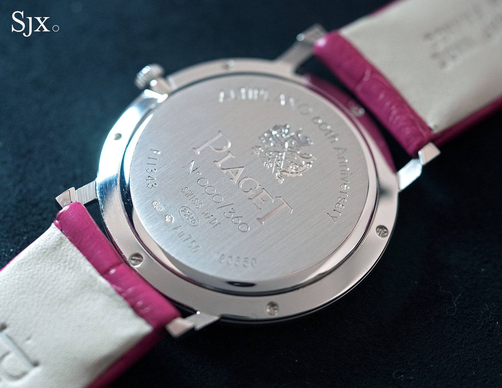 Piaget Altiplano 60th Anniversary 34mm pink 3