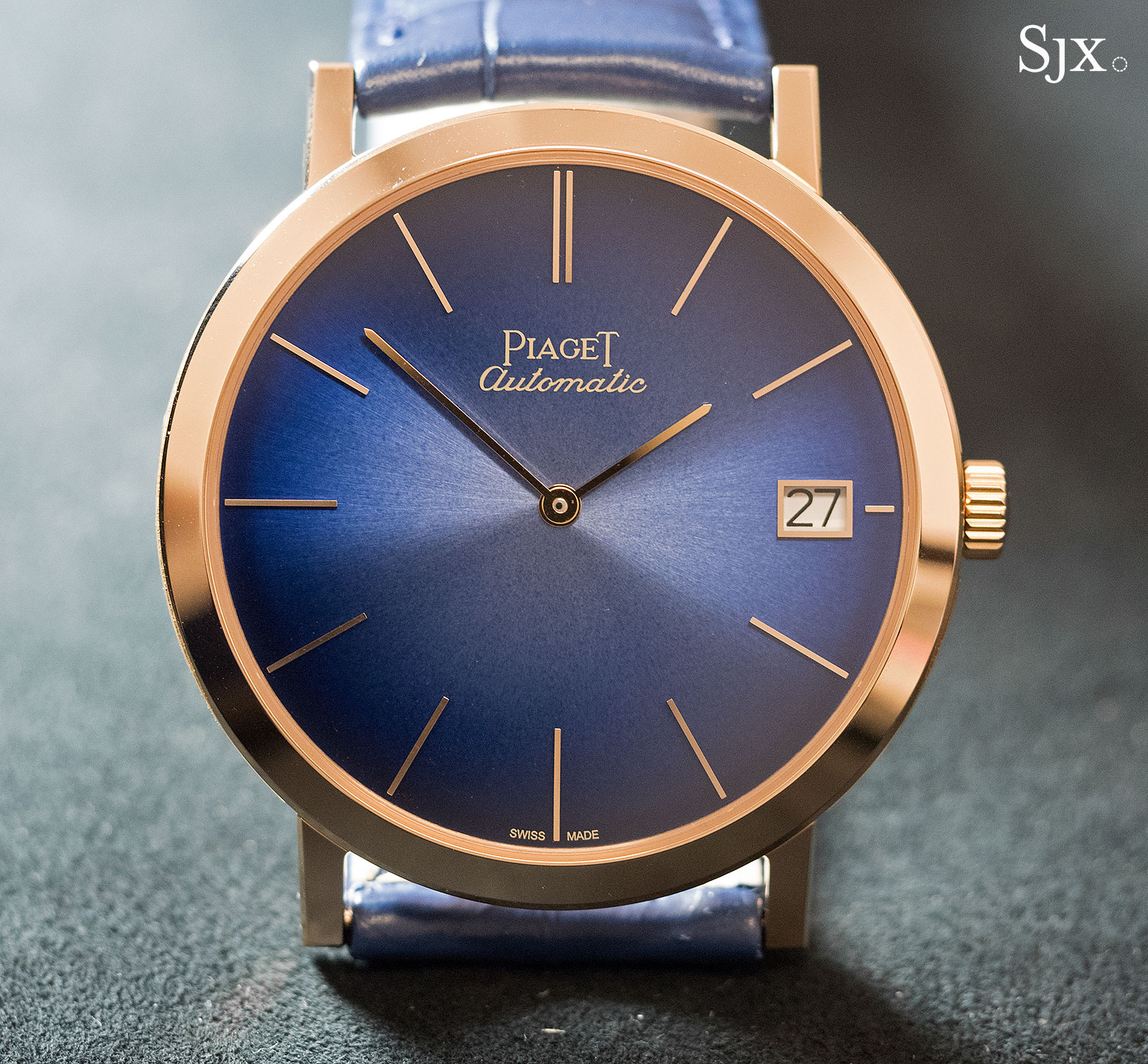 Piaget Altiplano 60th Anniversary 40mm blue 1