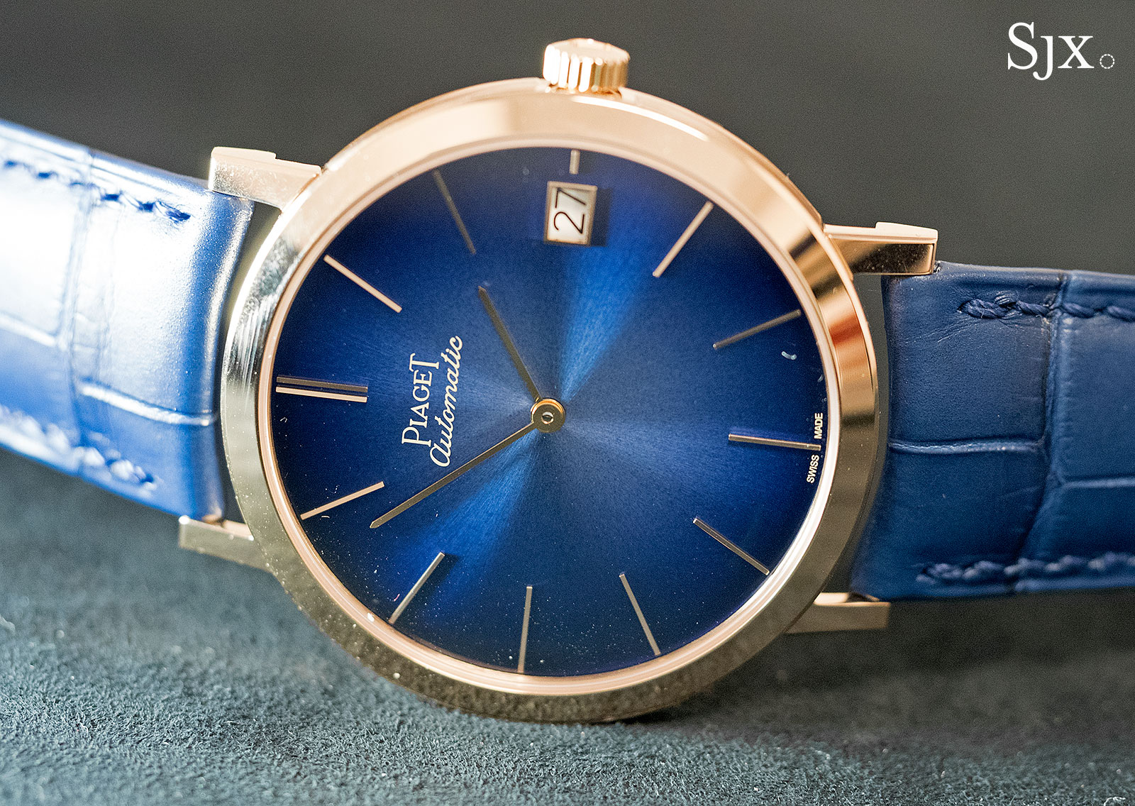 Piaget Altiplano 60th Anniversary 40mm blue 2