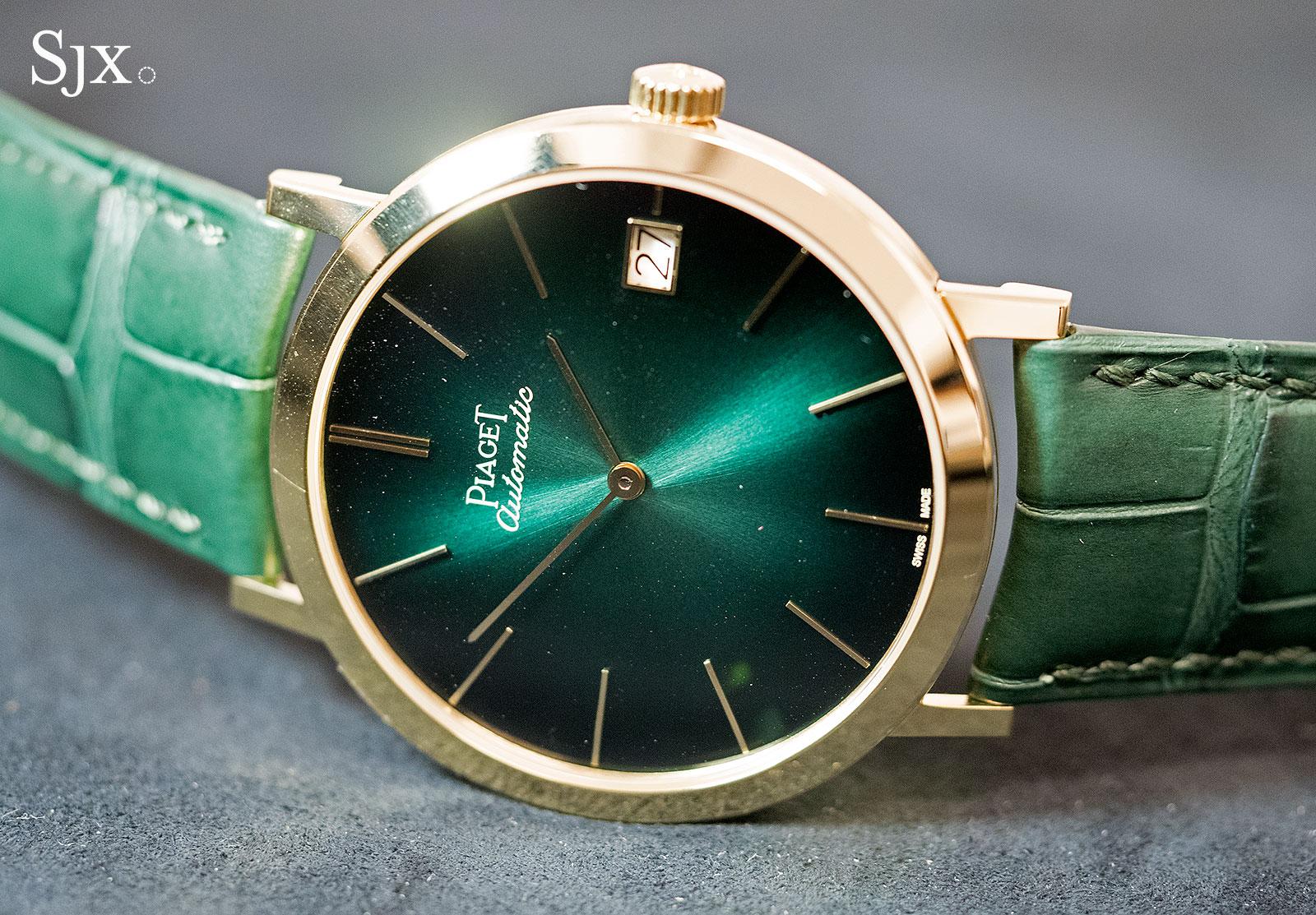 Piaget Altiplano 60th Anniversary 40mm green 1