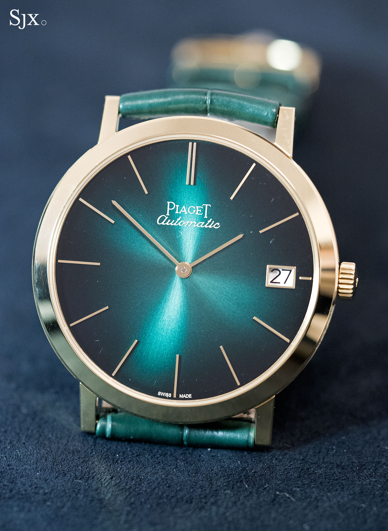 Piaget Altiplano 60th Anniversary 40mm green 2
