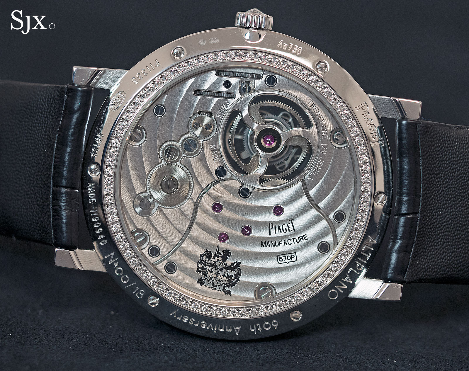 Piaget Altiplano 60th Anniversary Tourbillon High Jewellery 4