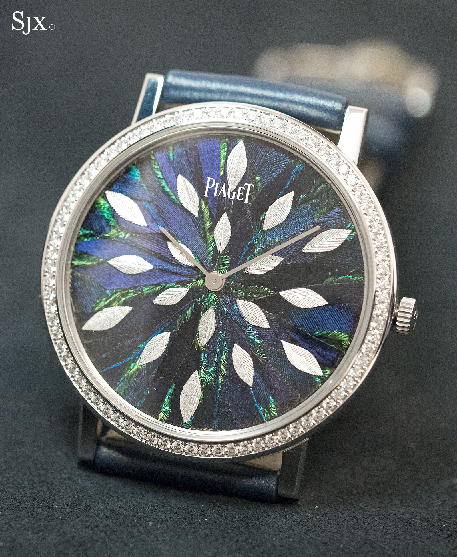 Piaget Altiplano Feather Marquetry 38mm 1