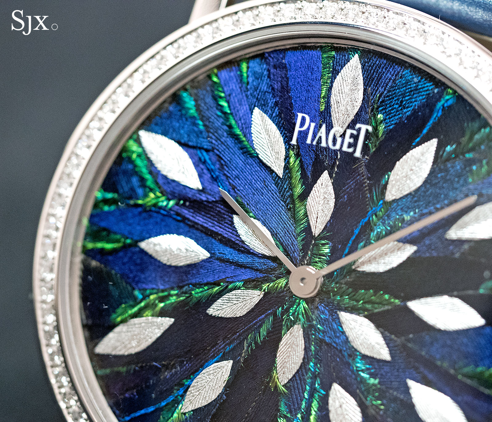 Piaget Altiplano Feather Marquetry 38mm 2