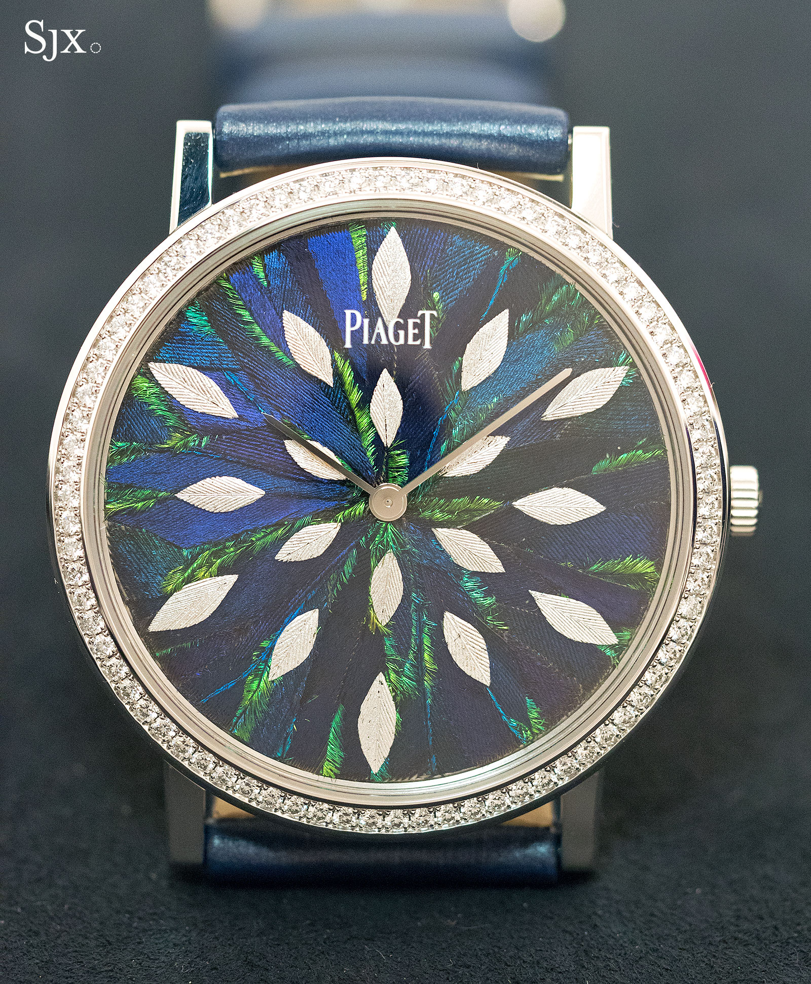 Piaget Altiplano Feather Marquetry 38mm 3