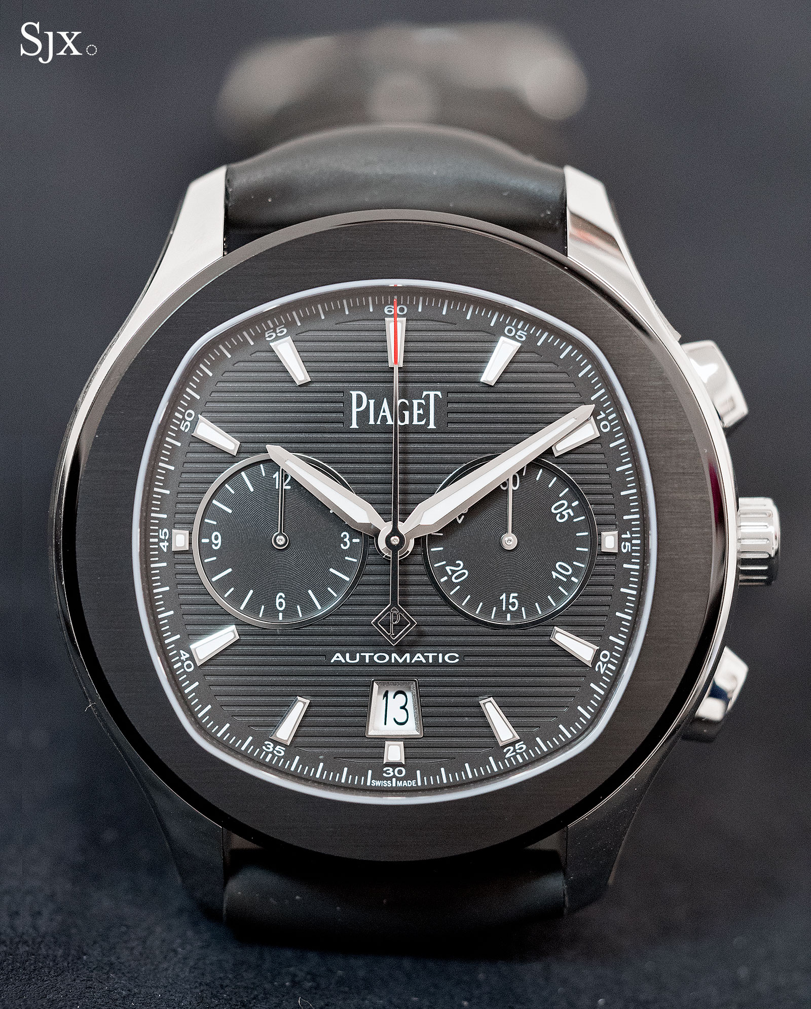 Piaget Polo S Black ADLC Chronograph-1