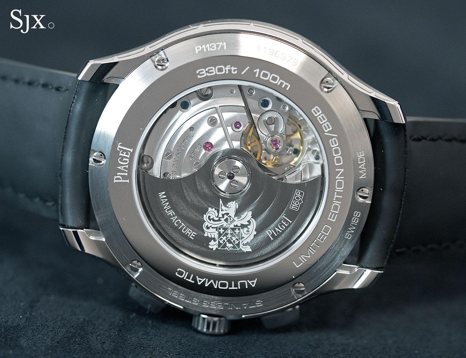 Piaget Polo S Black ADLC Chronograph-2