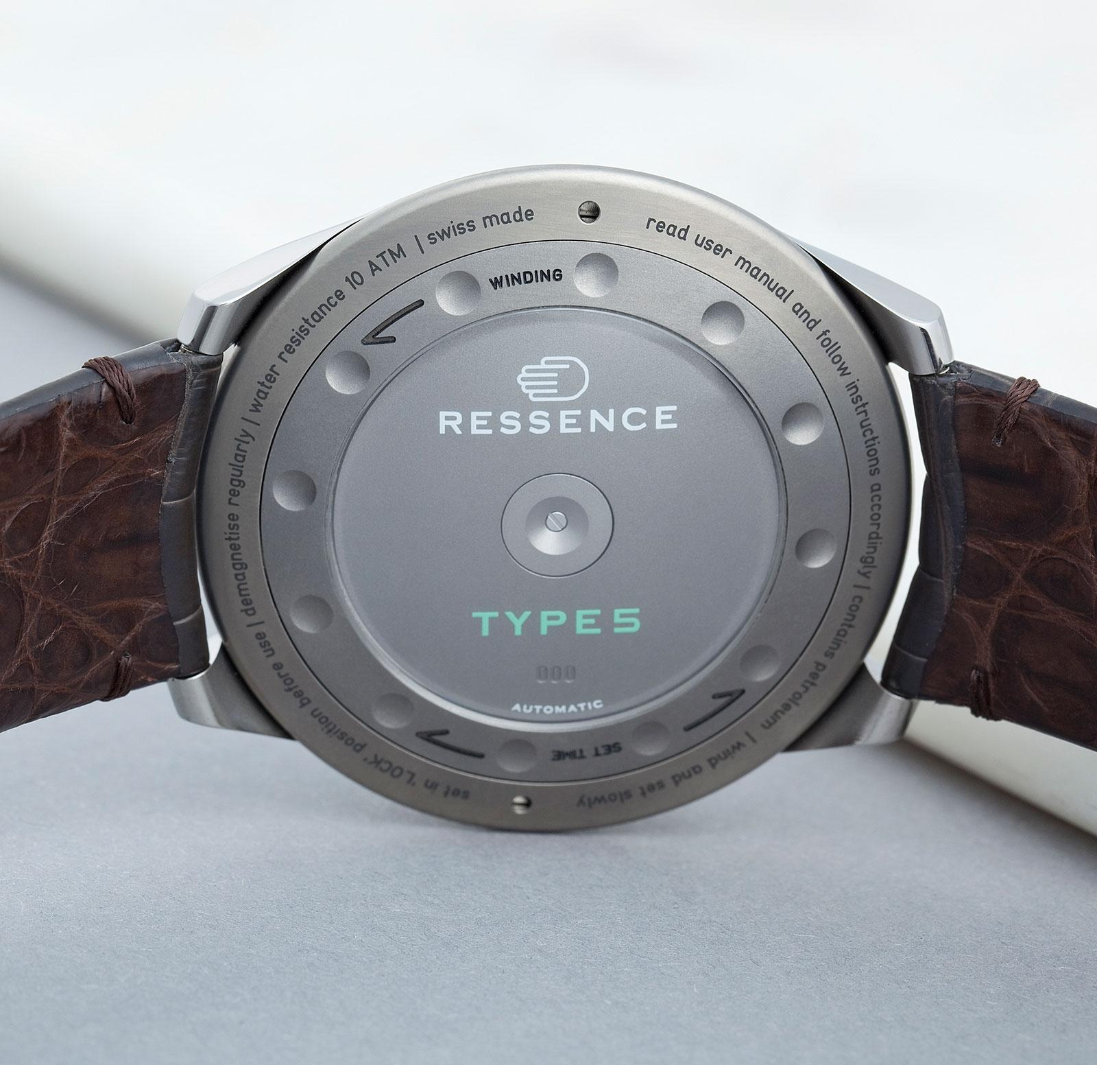 Ressence Type 5G Grey 6