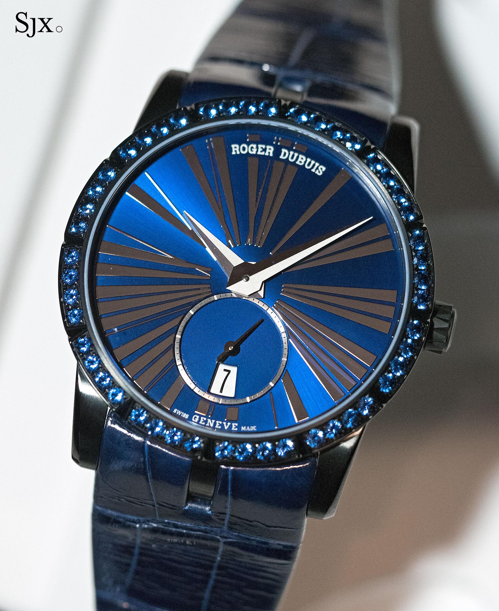 Roger Dubuis Excalibur 36 blue sapphires