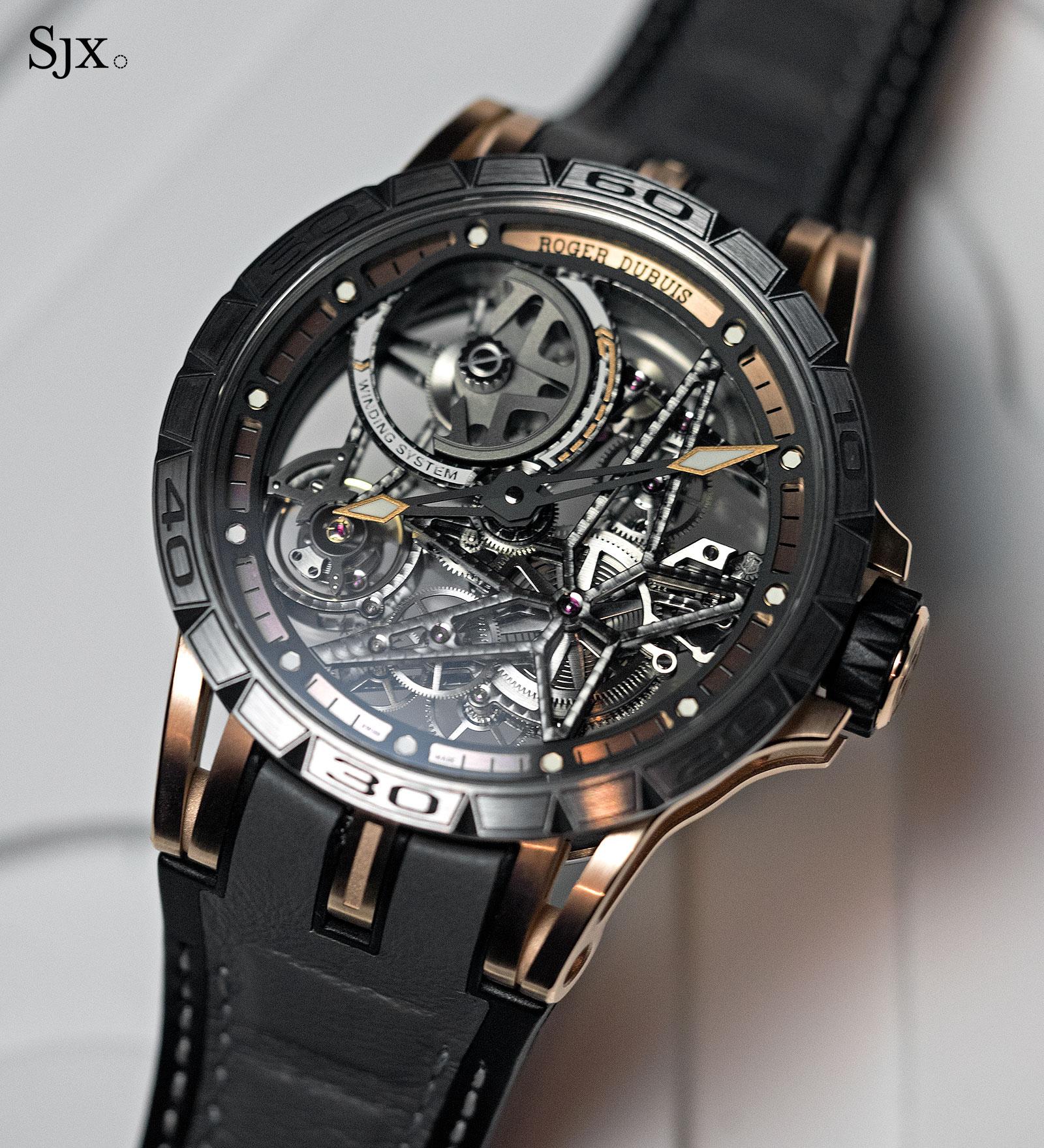 Roger Dubuis Excalibur Spider Automatic Skeleton gold-titanium 1