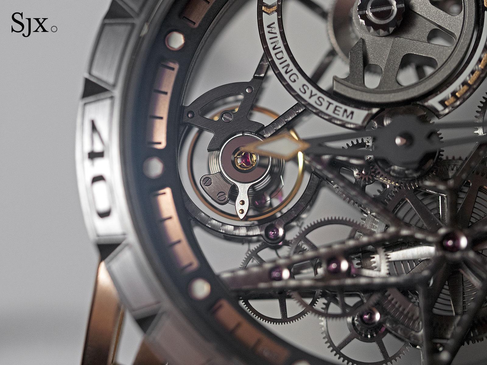 Roger Dubuis Excalibur Spider Automatic Skeleton gold-titanium 2