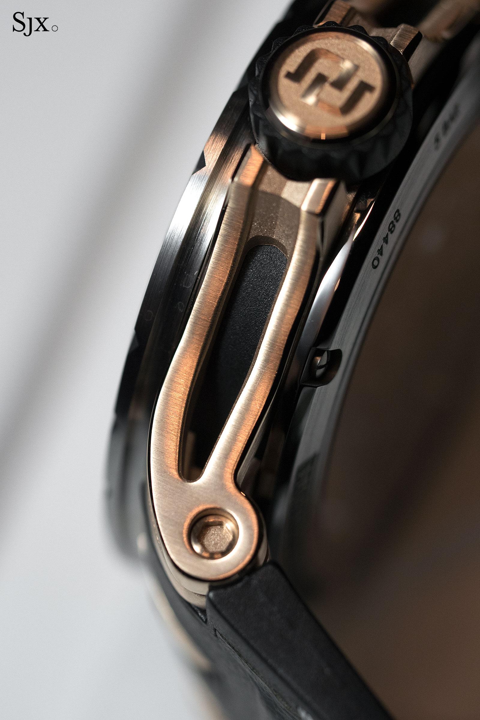 Roger Dubuis Excalibur Spider Automatic Skeleton gold-titanium 3