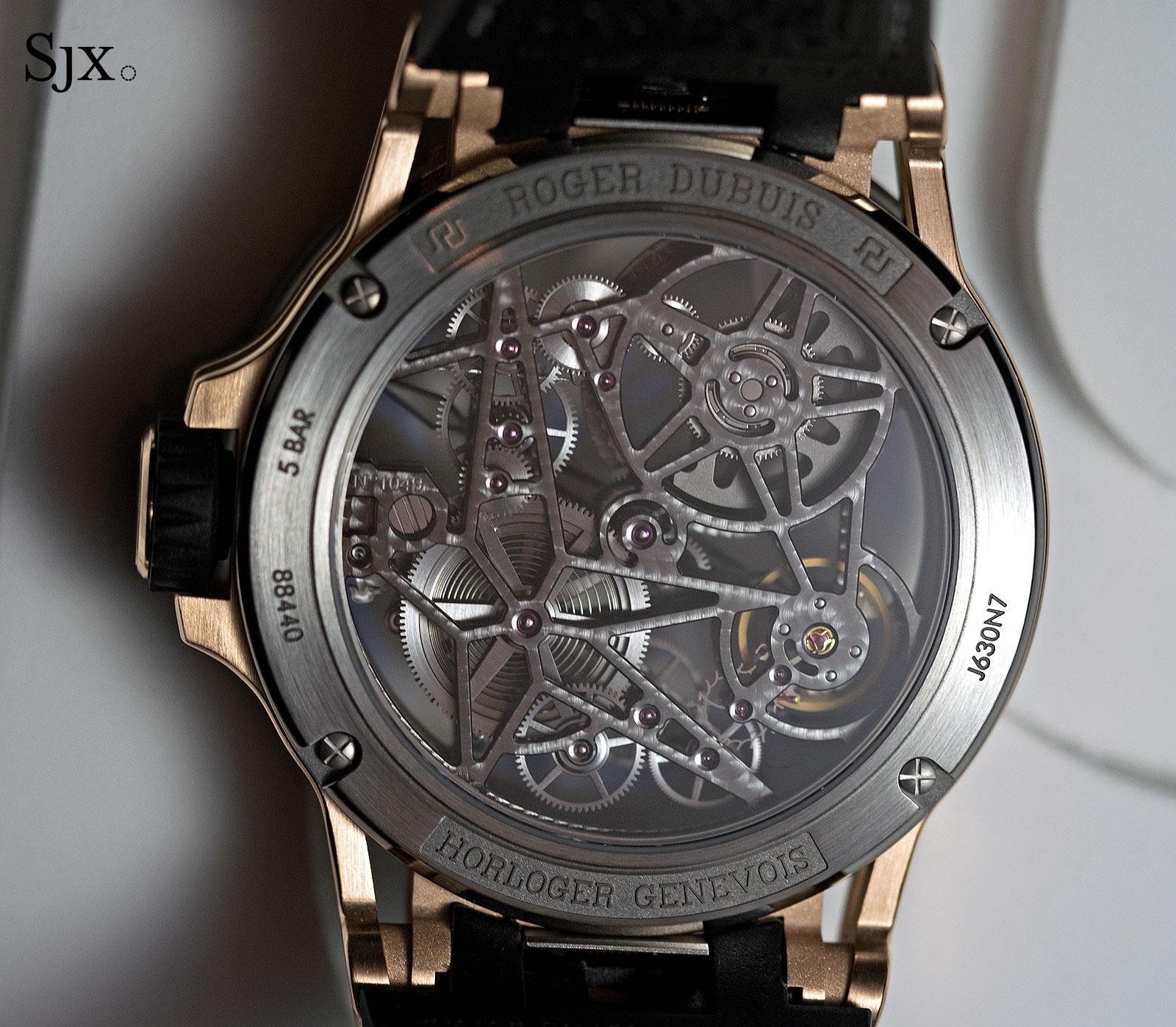 Roger Dubuis Excalibur Spider Automatic Skeleton gold-titanium 4