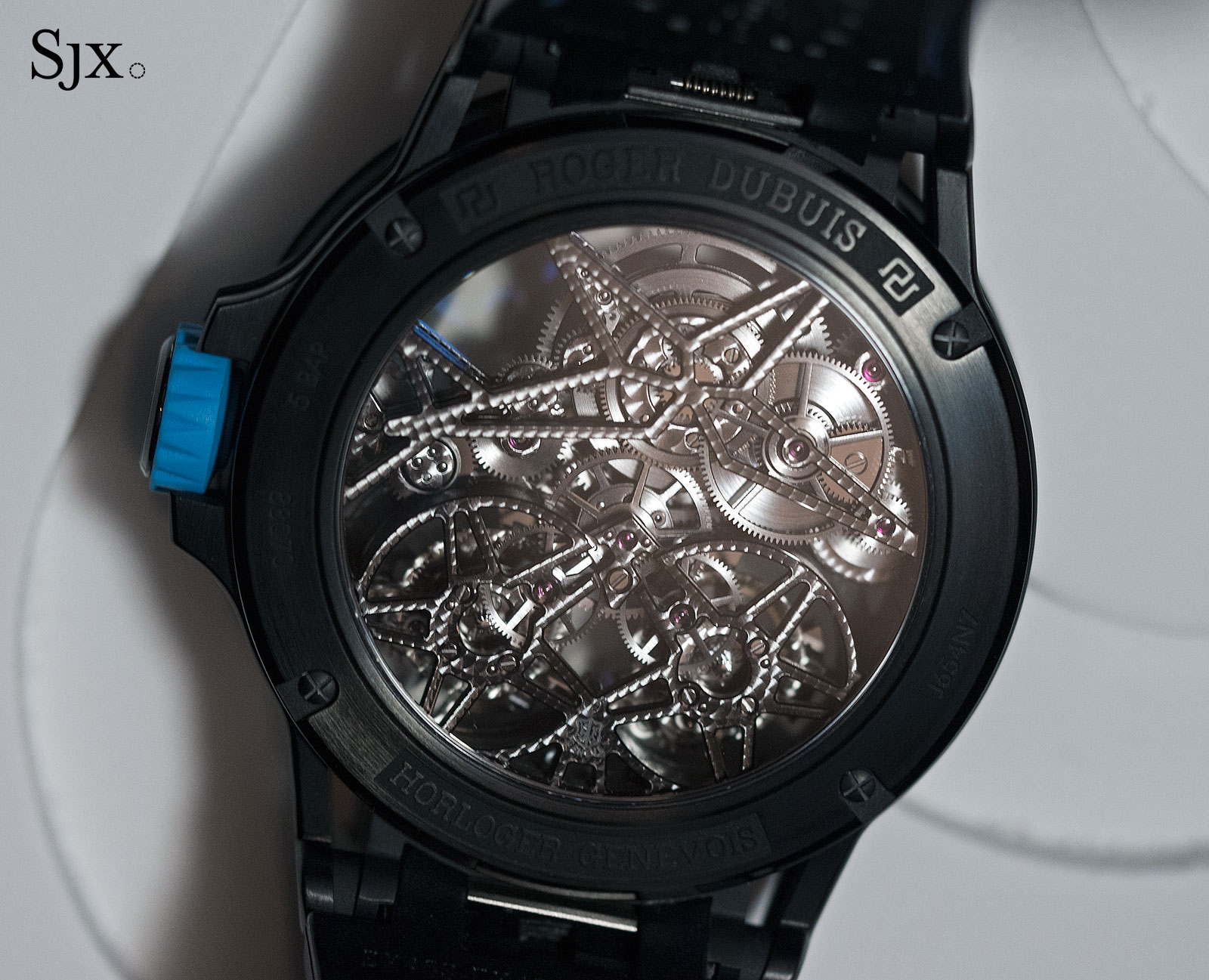 Roger Dubuis Excalibur Spider Pirelli Double Flying Tourbillon 5