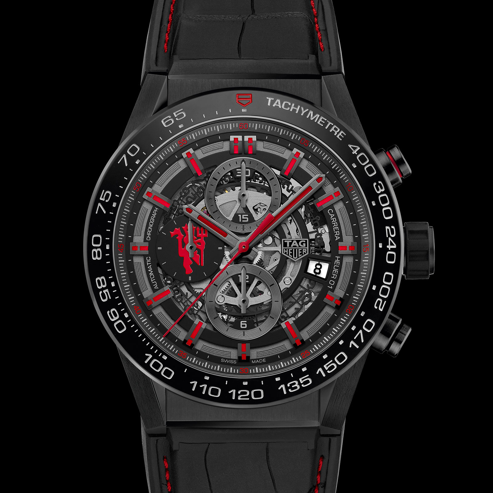 TAG Heuer Carrera Heuer-01 Chronograph Manchester United 1