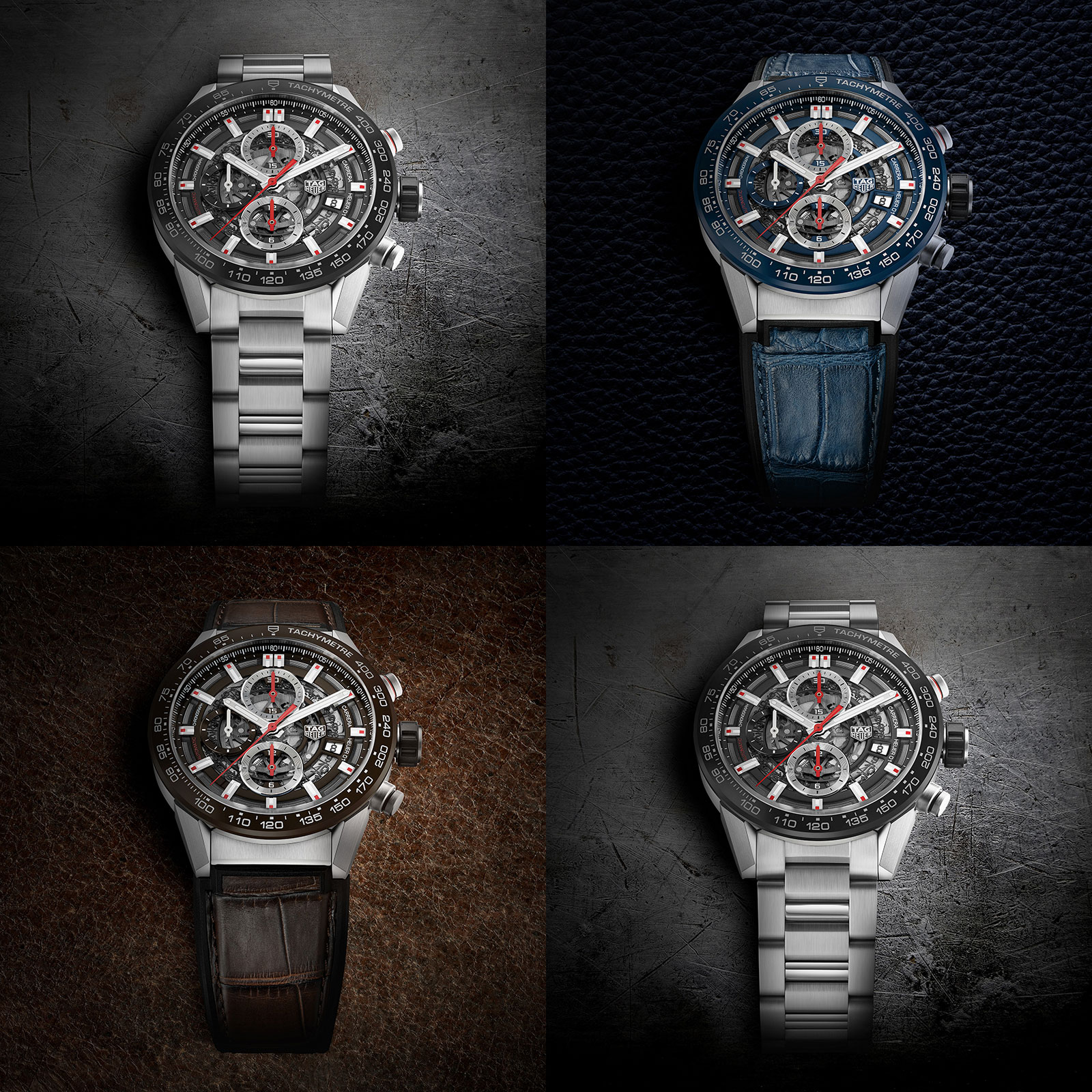 TAG Heuer Carrera Heuer-01 chronograph 43mm