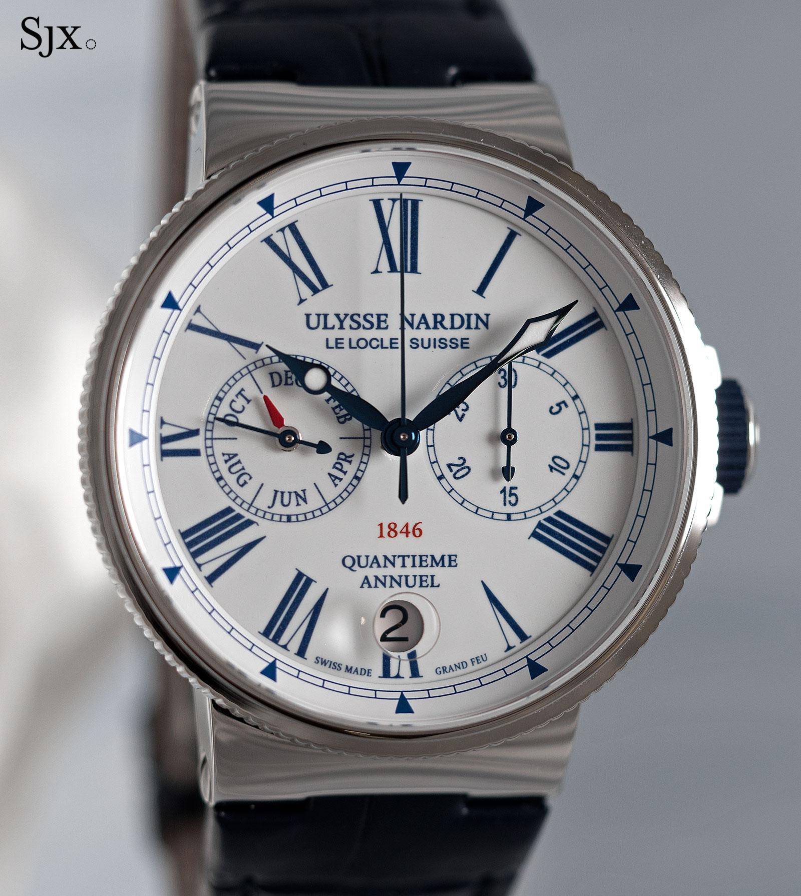 Ulysse Nardin Marine Chronograph Annual Calendar Manufacture-1