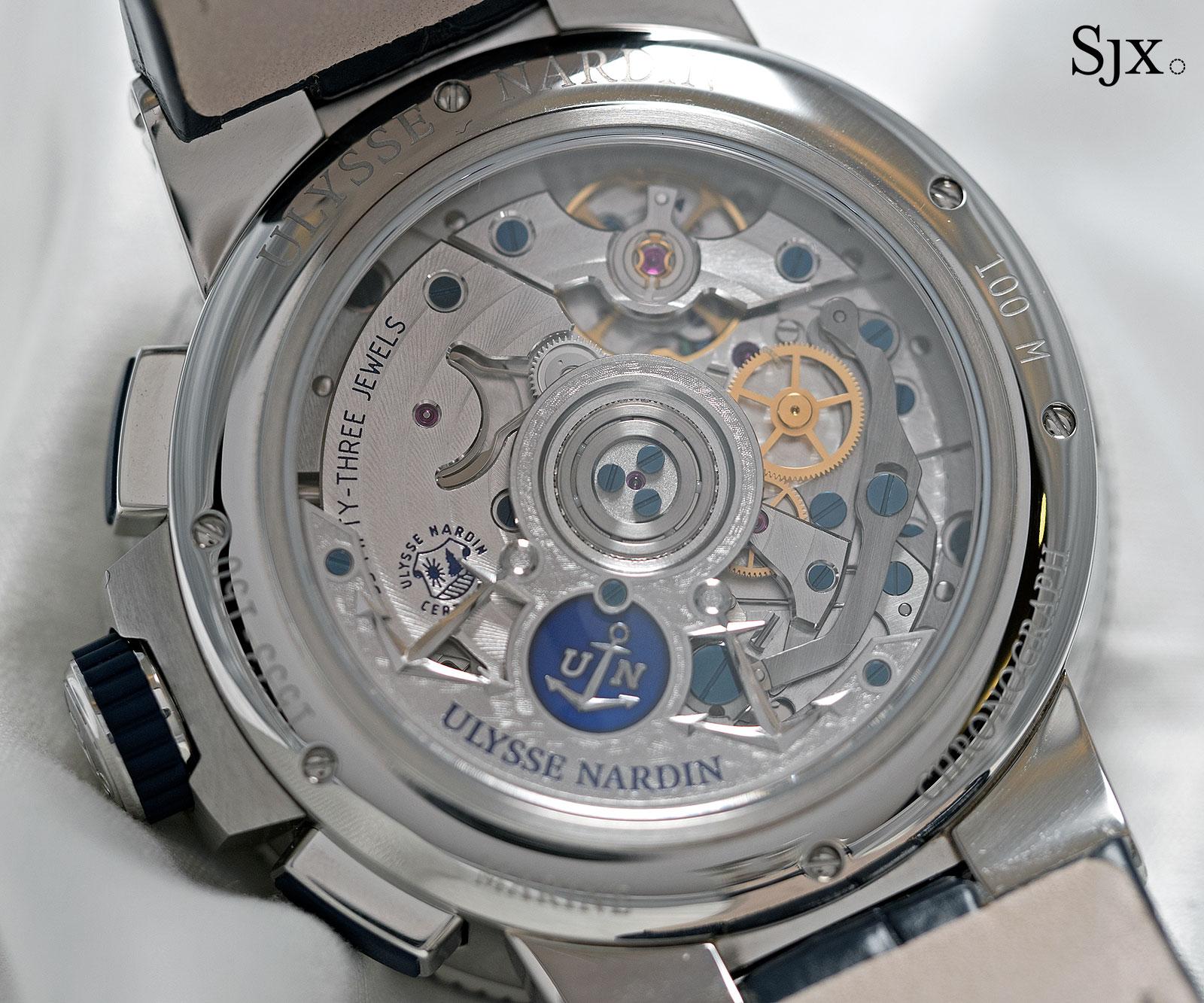 Ulysse Nardin Marine Chronograph Annual Calendar Manufacture-3