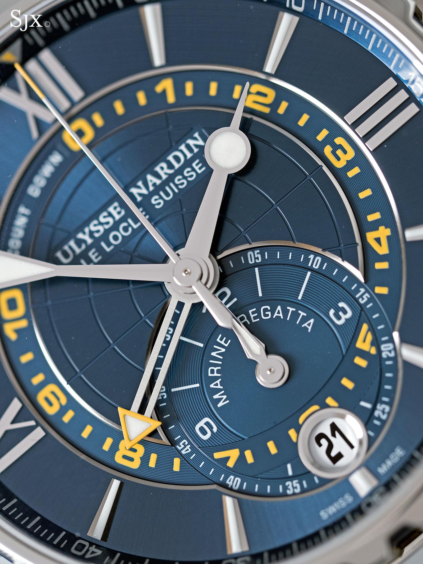 Ulysse Nardin Marine Chronograph Manufacture Regatta 2