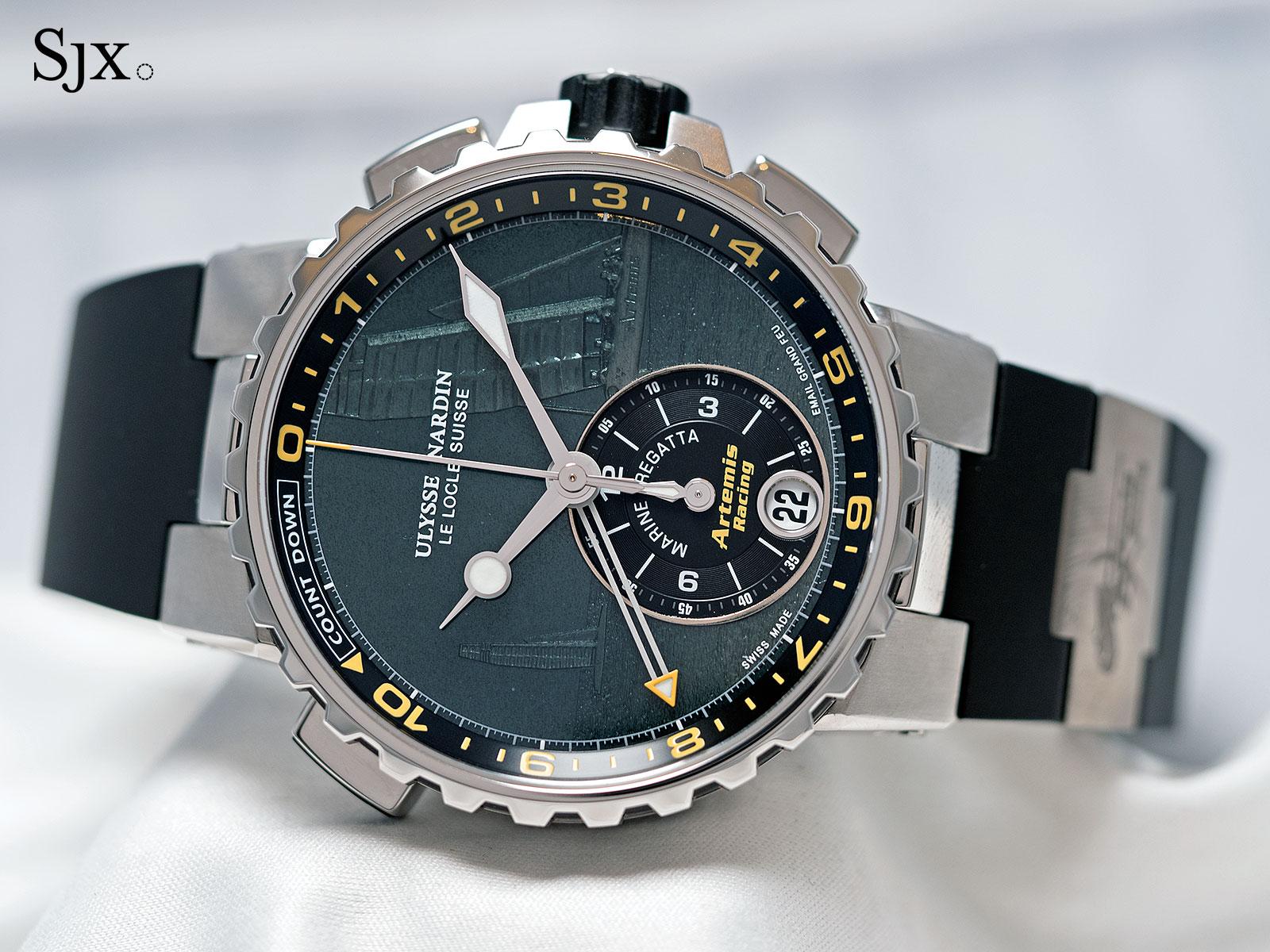 Ulysse Nardin Marine Chronograph Manufacture Regatta enamel 1