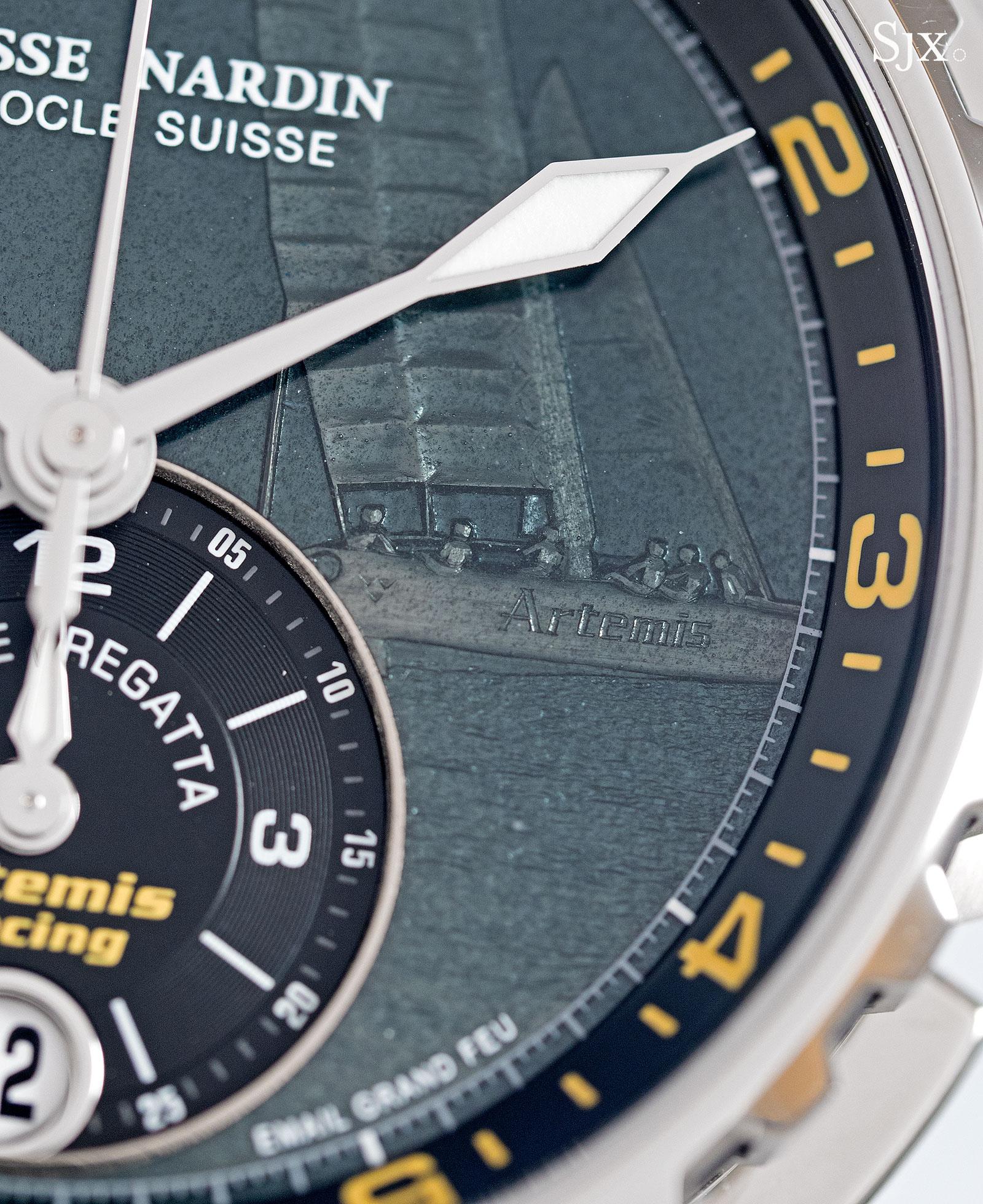 Ulysse Nardin Marine Chronograph Manufacture Regatta enamel 2