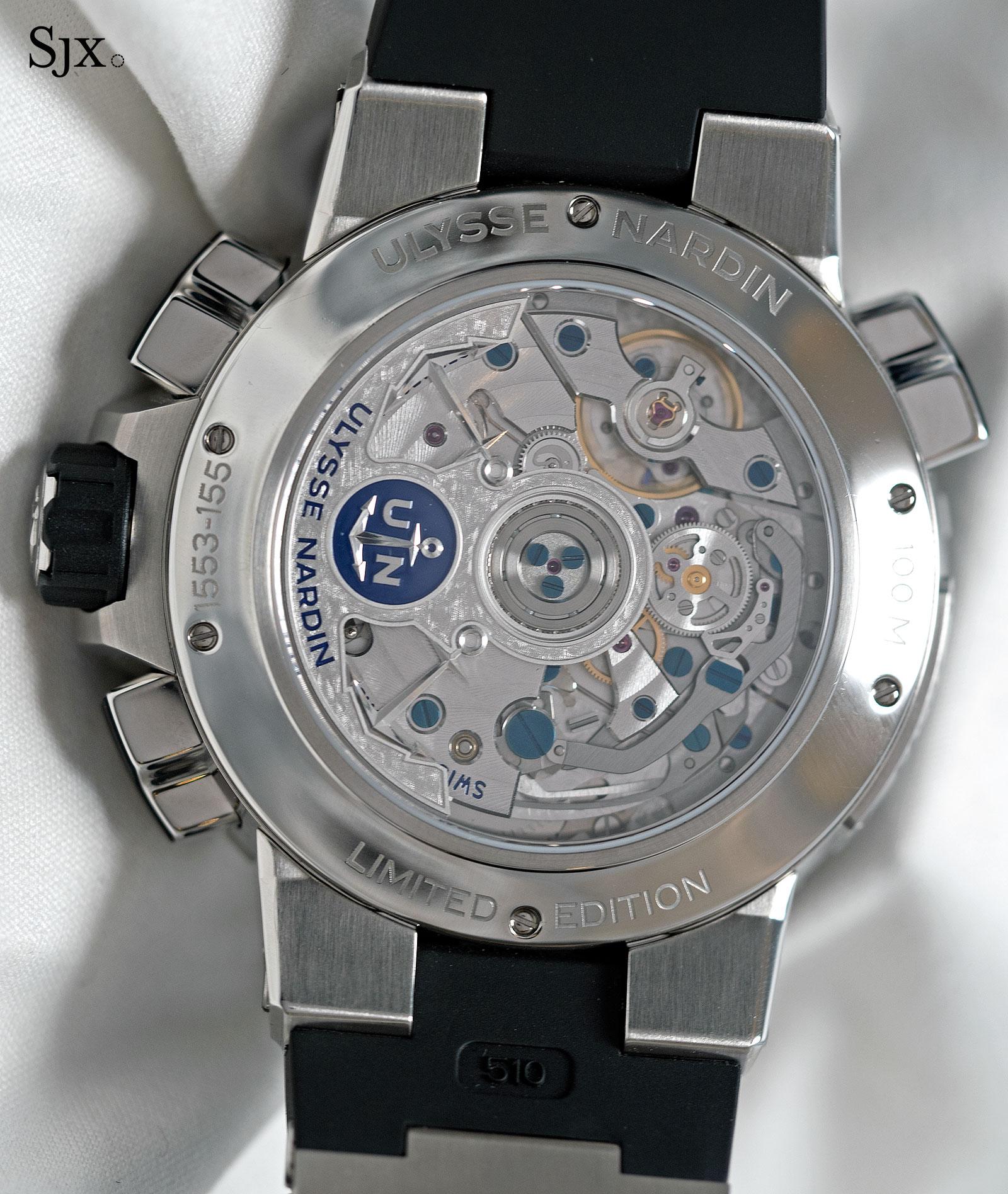 Ulysse Nardin Marine Chronograph Manufacture Regatta enamel 3
