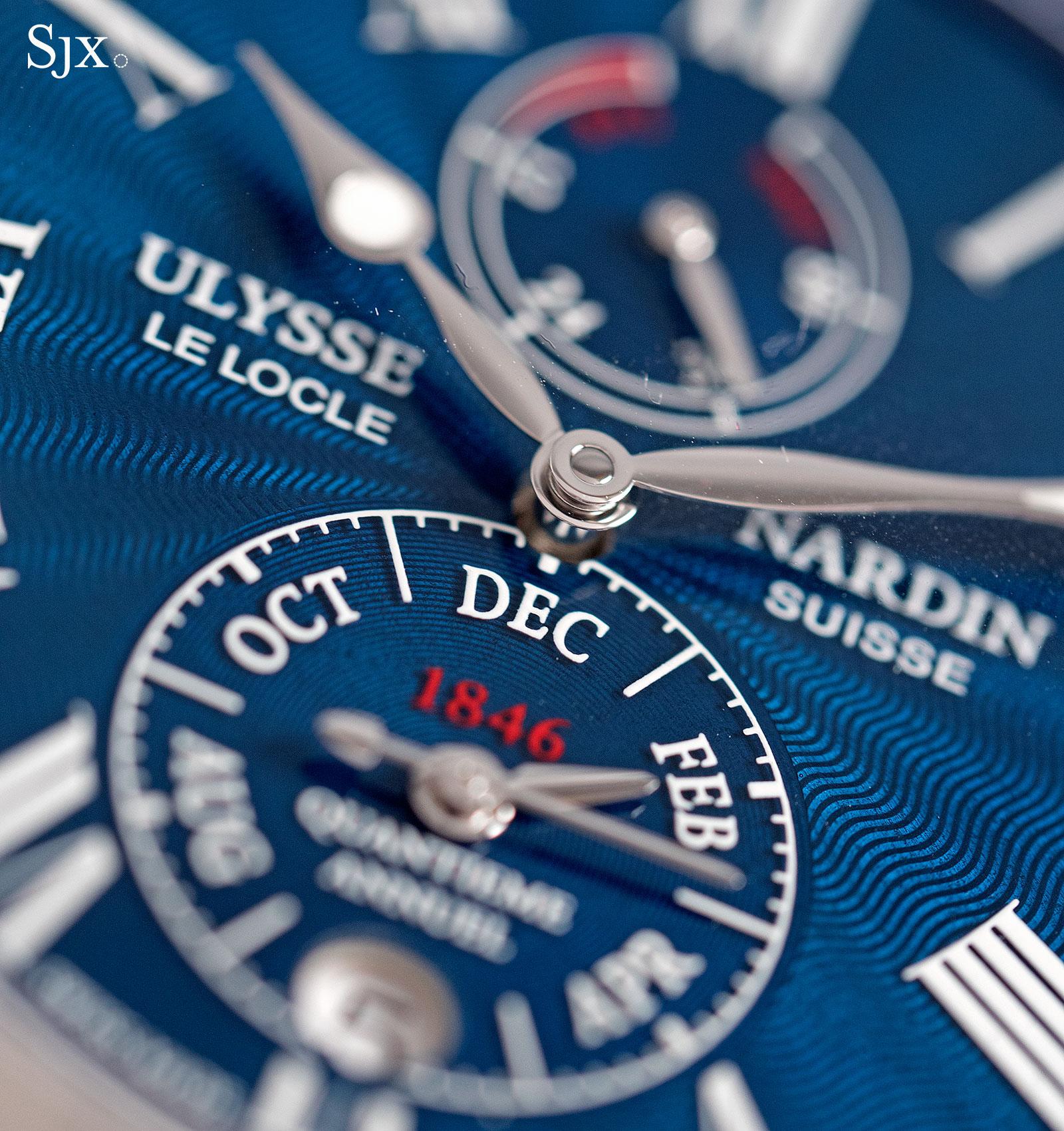 Ulysse Nardin Marine Chronometer Annual Calendar Manufacture 2
