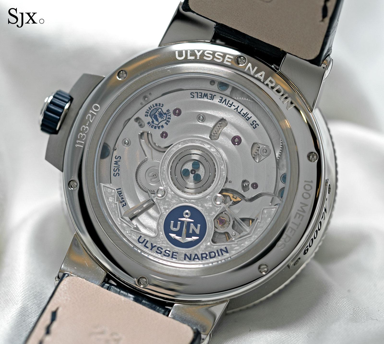 Ulysse Nardin Marine Chronometer Annual Calendar Manufacture 3