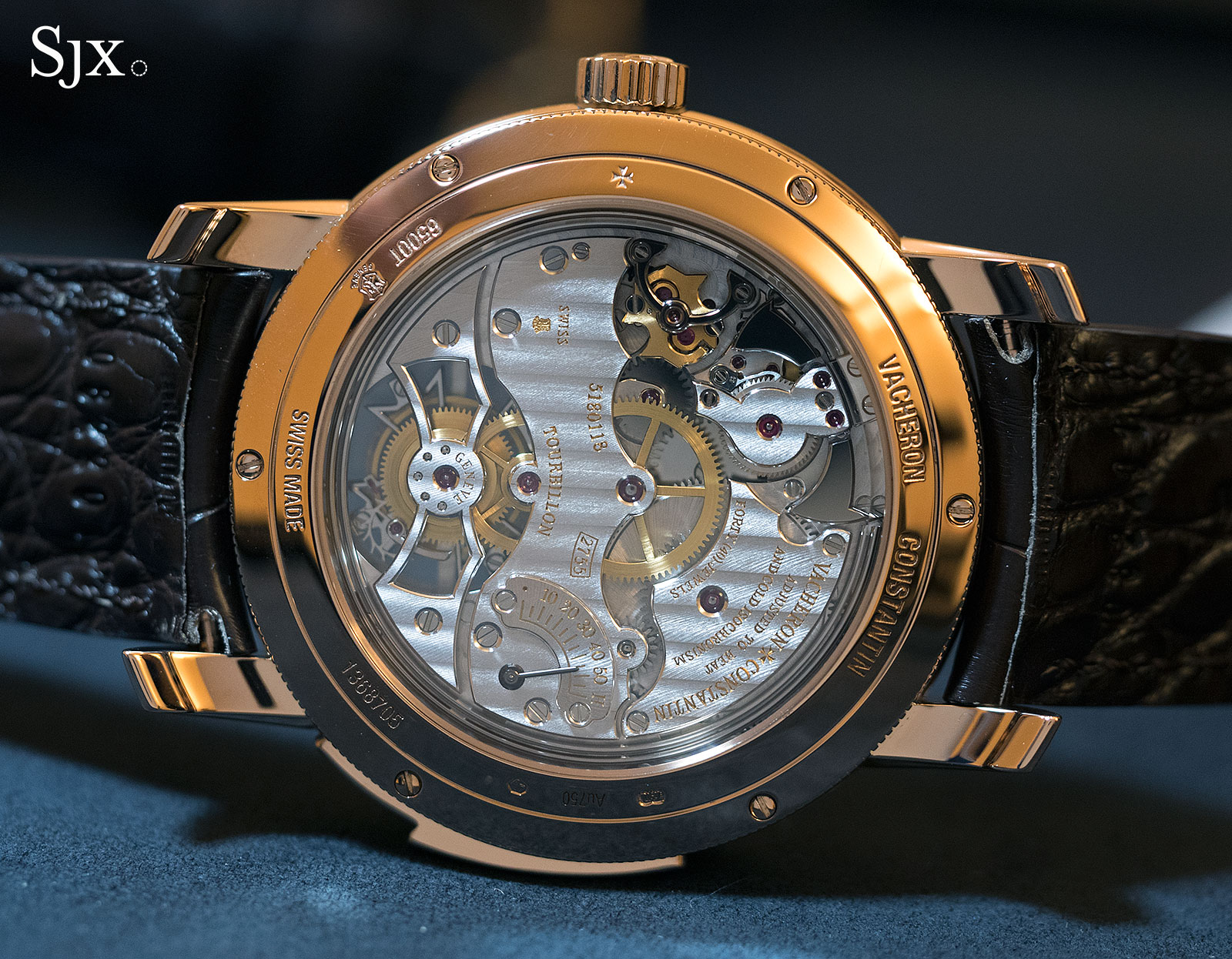 Vacheron Constantin Traditionnelle minute repeater tourbillon 4