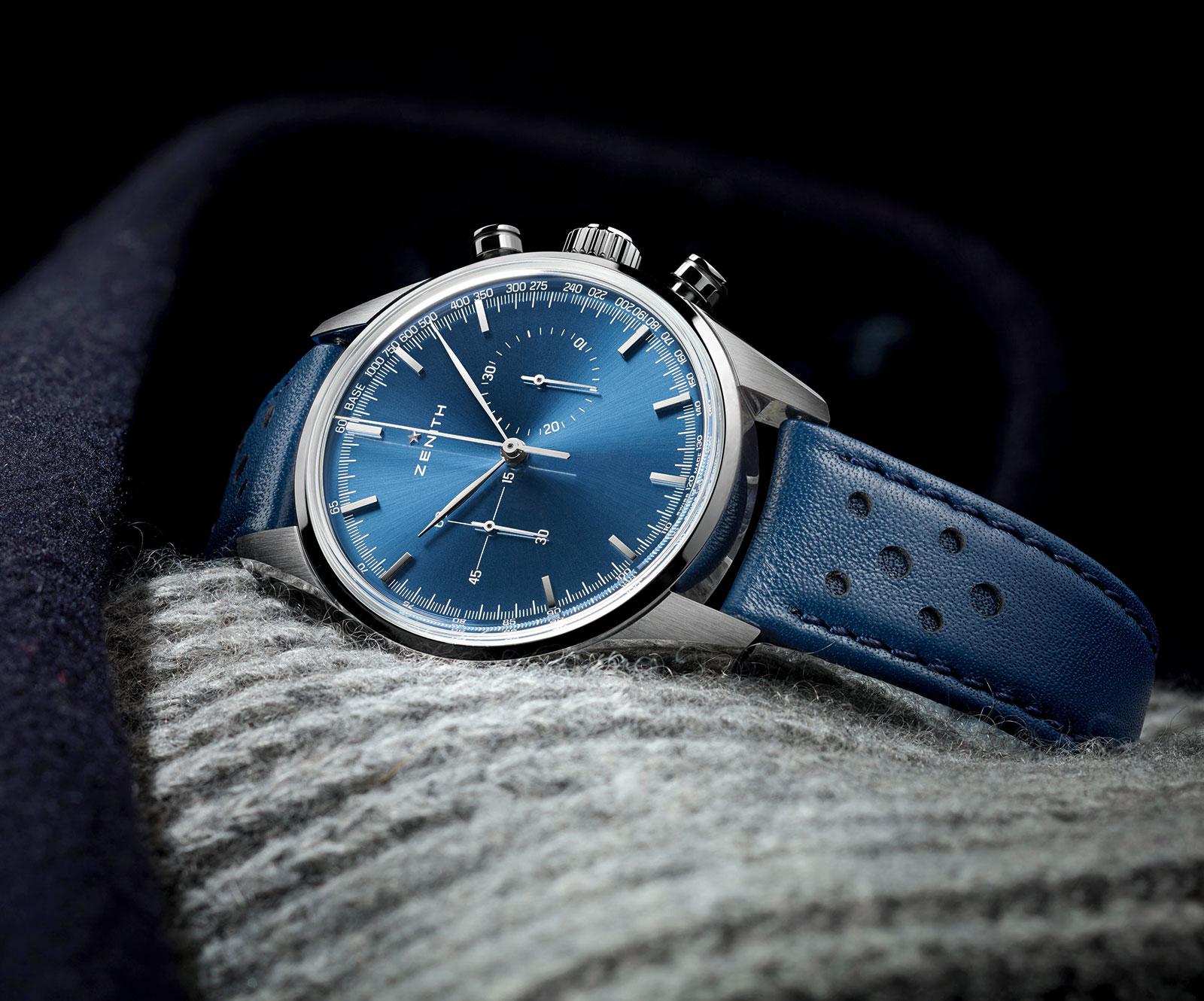 Zenith Heritage 146 chronograph blue
