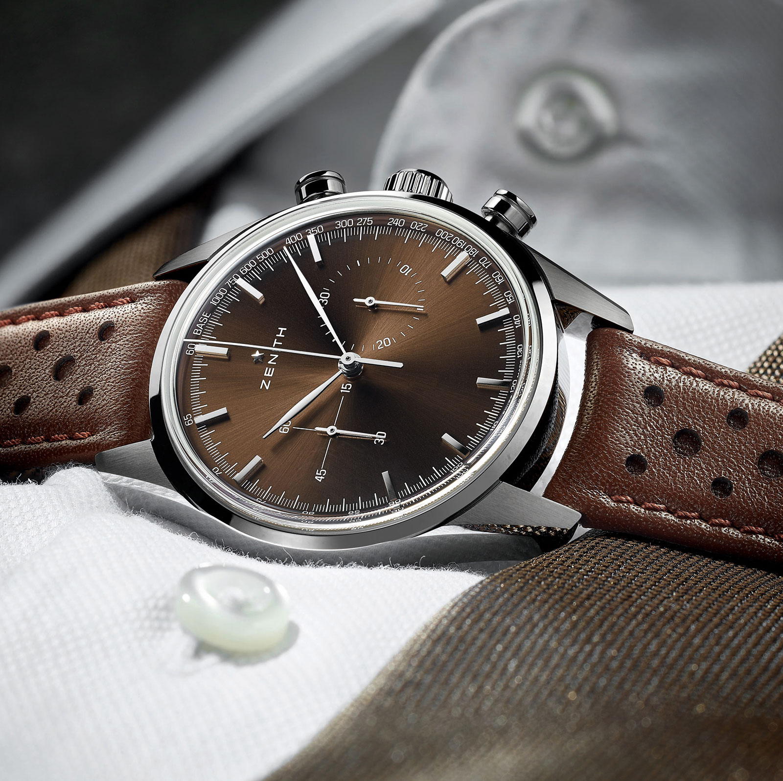 Zenith Heritage 146 chronograph brown